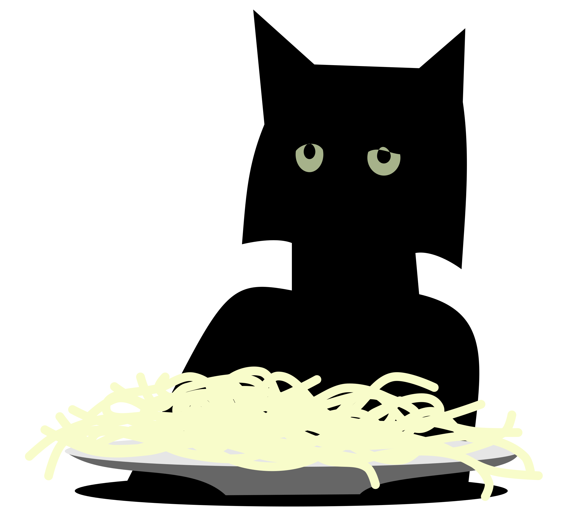 Spaghetti Cat by rones