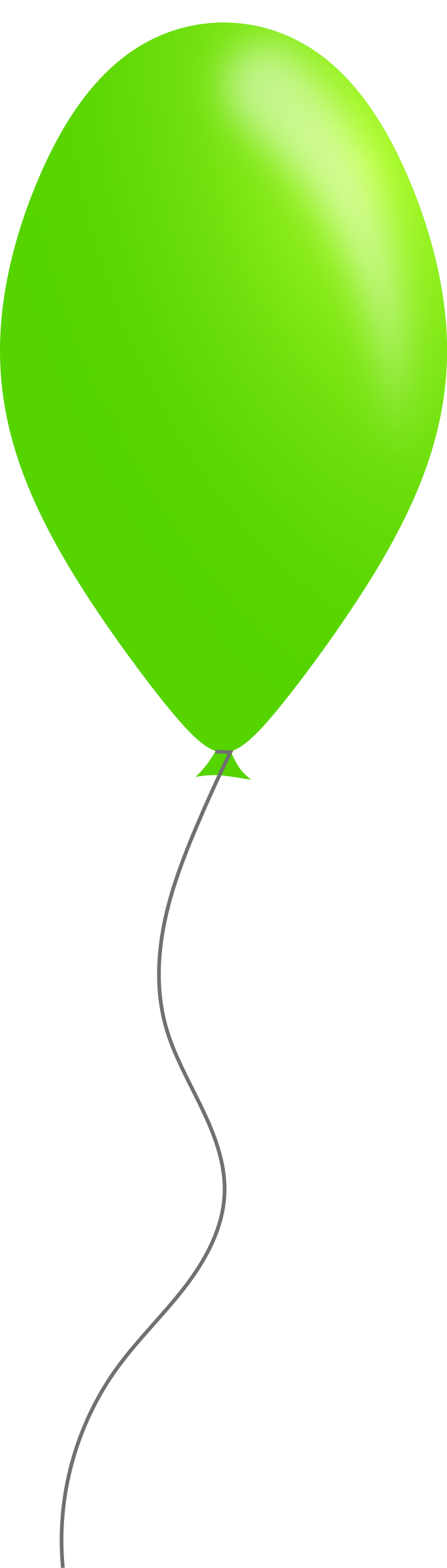 Green balloon by Caig