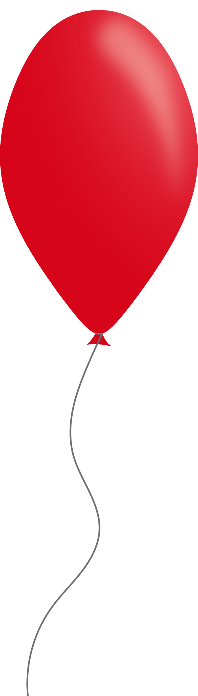 Red balloon by Caig