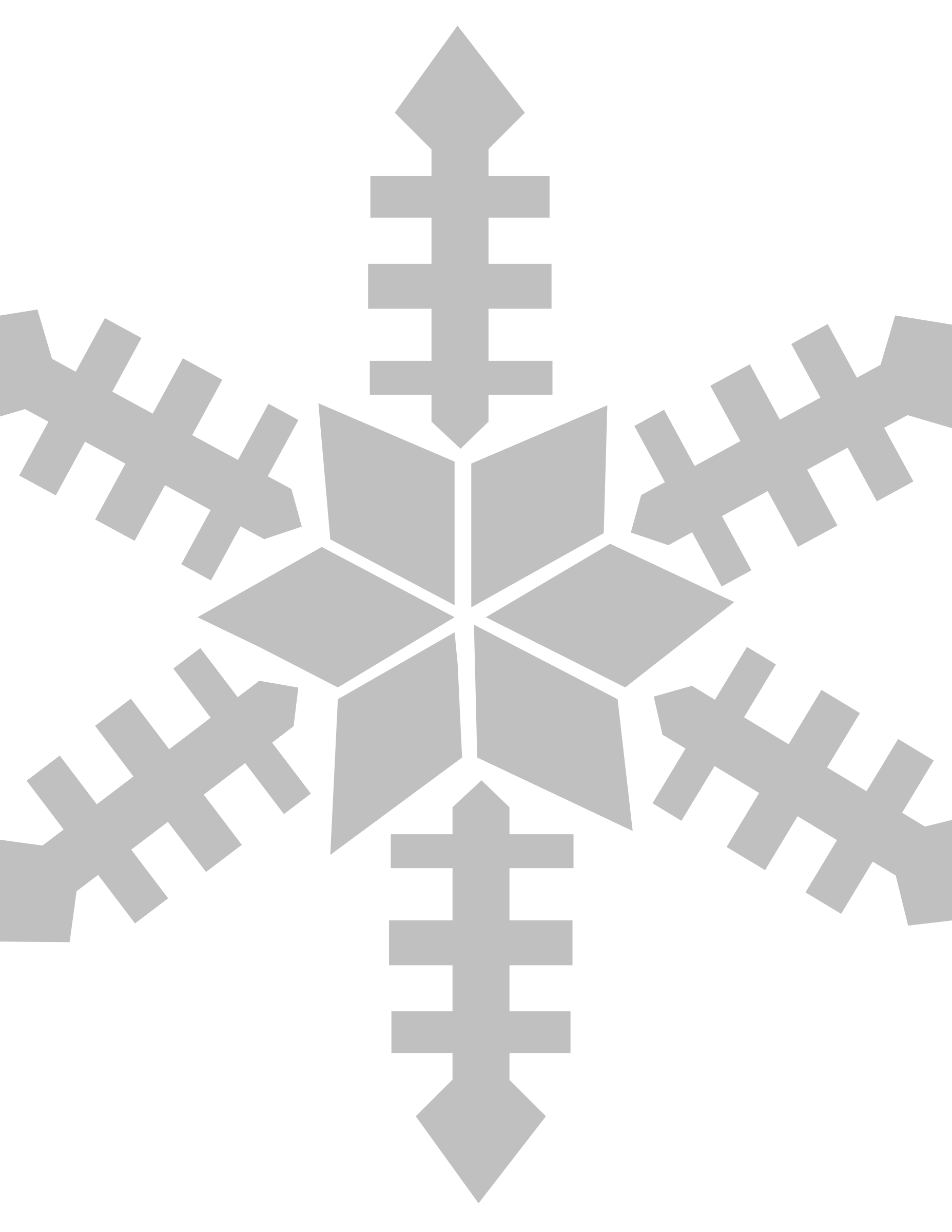 snowflake by lakeside