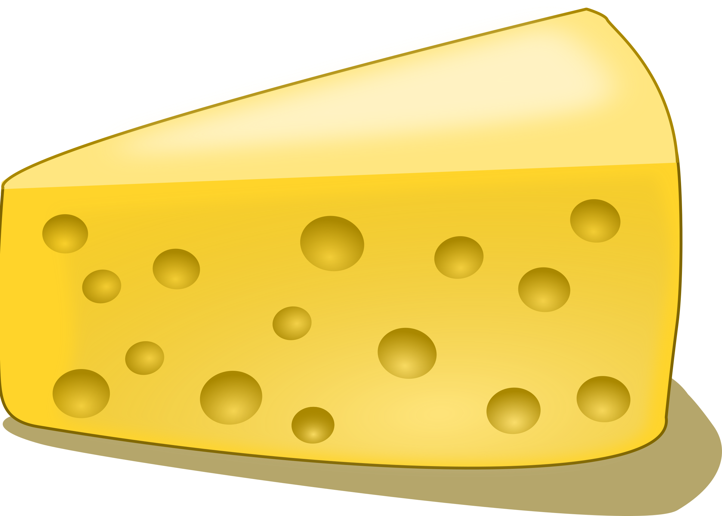 piece of cheese by Chrisdesign