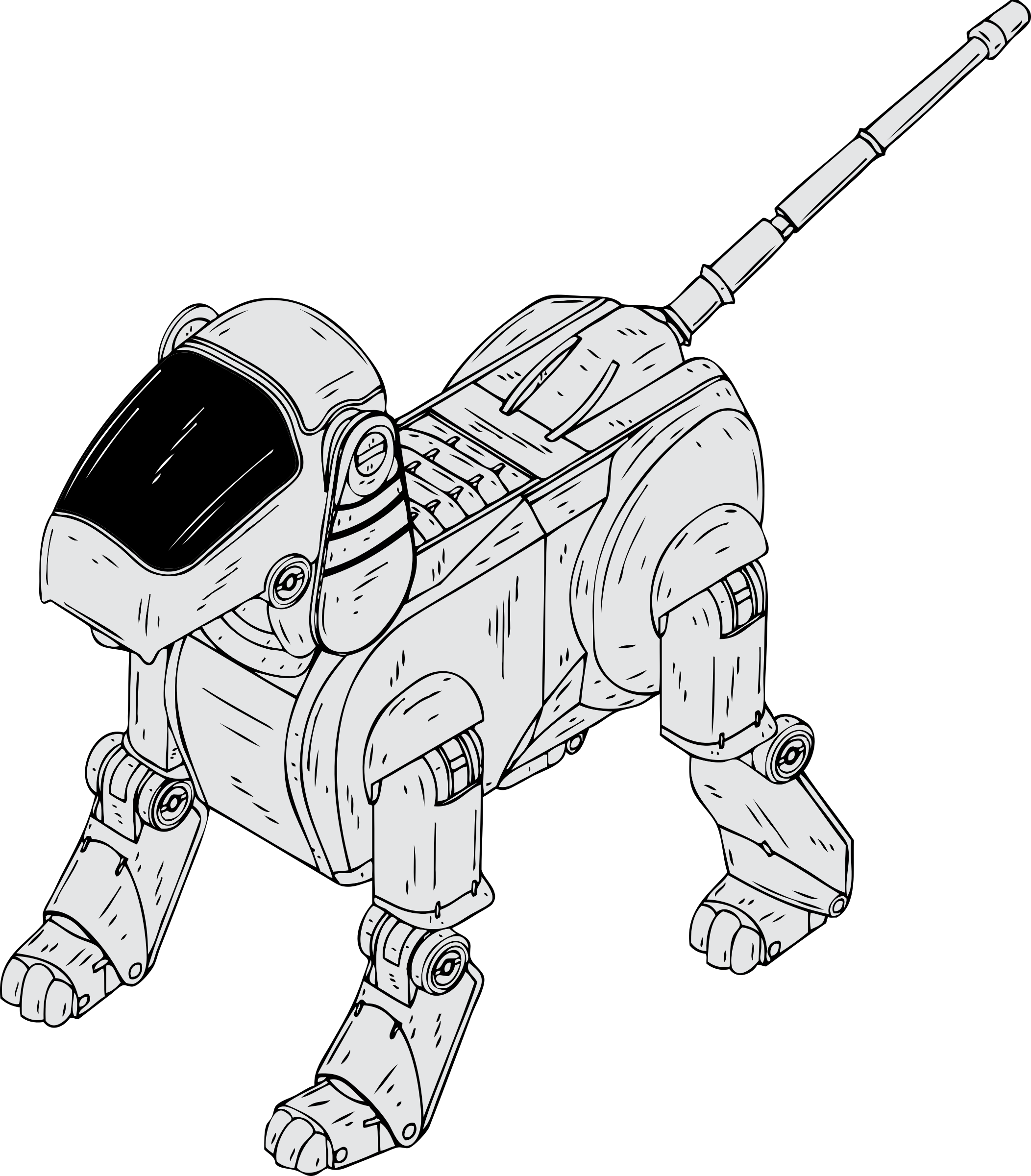 robot dog by johnny_automatic
