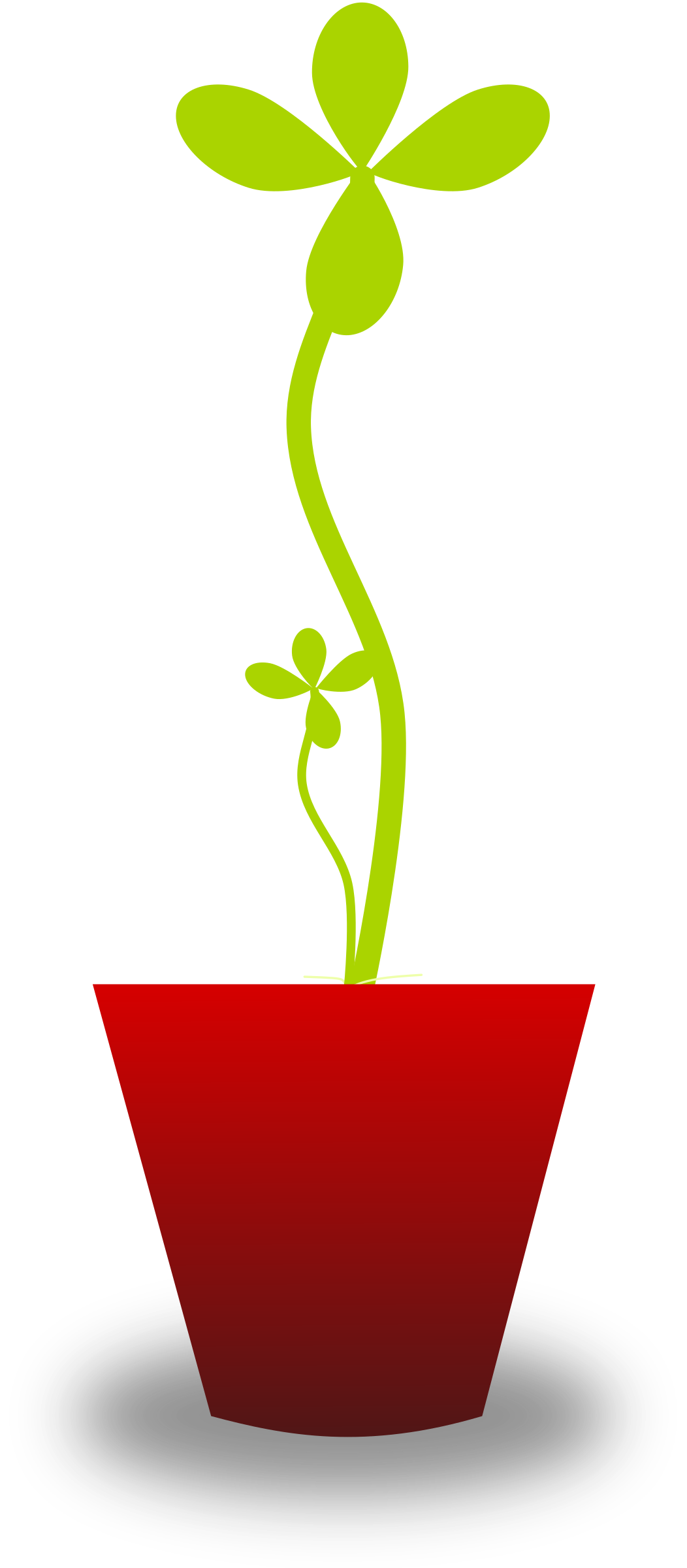 Clipart tender plant for Plante verte decorative
