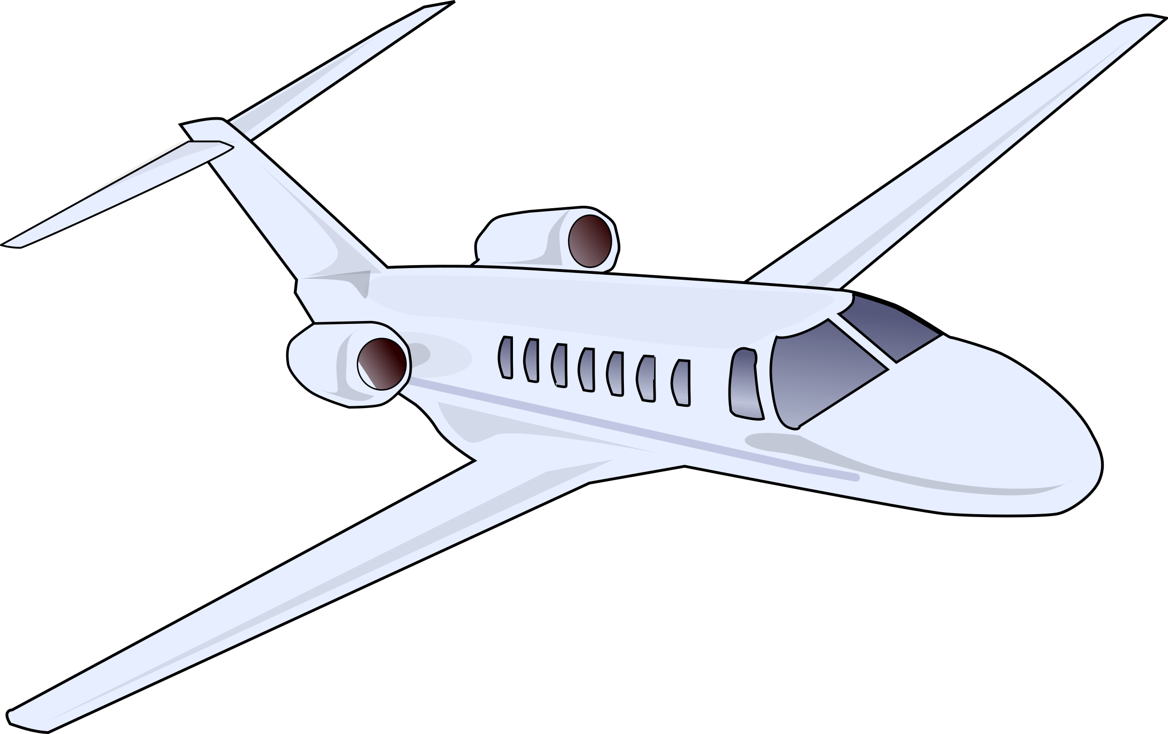 Business jet by Jarno