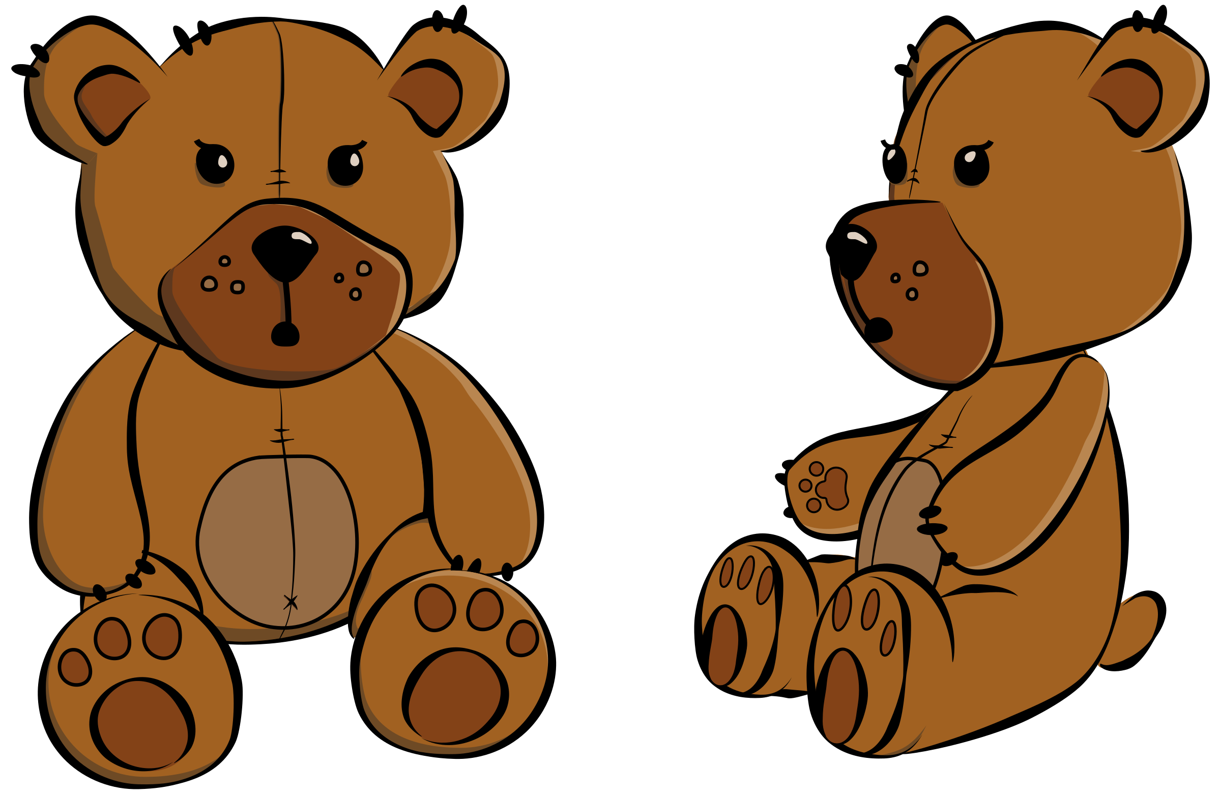 Teddy bear by PrinterKiller