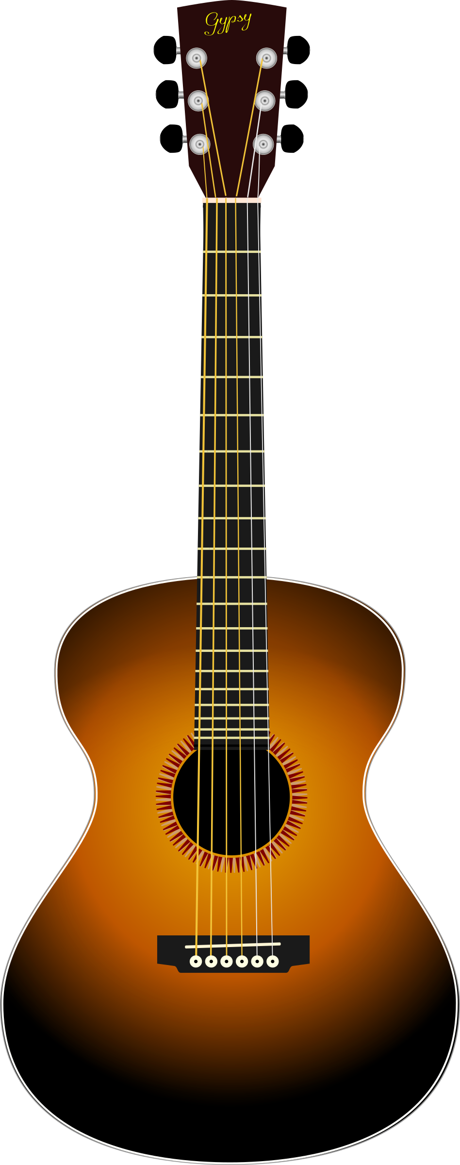 acoustic sunburst by narrowhouse