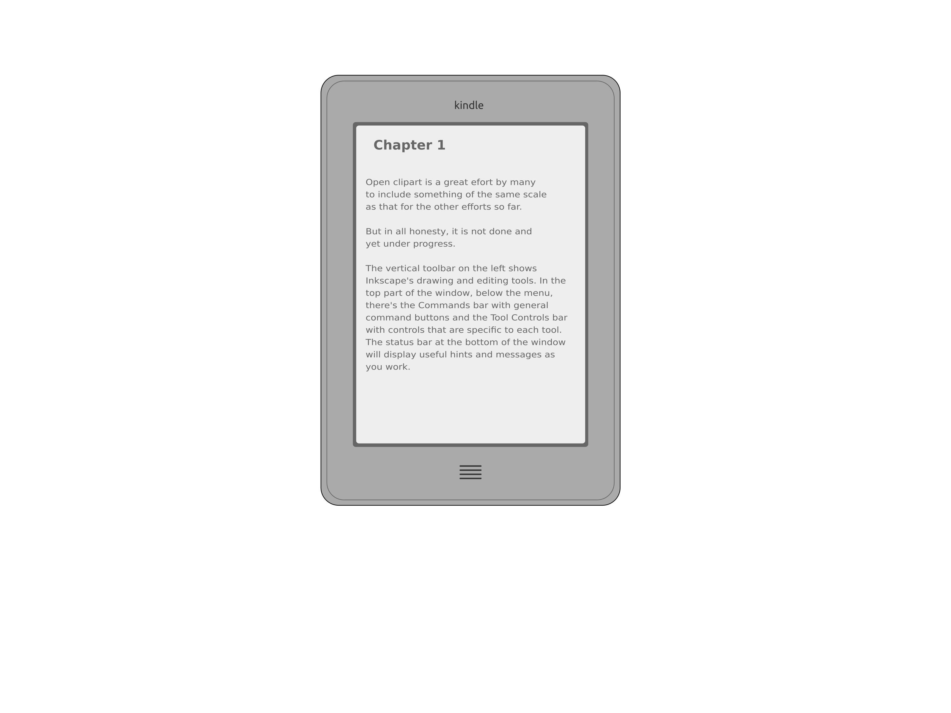 Kindle Touch by mohsinhijazee
