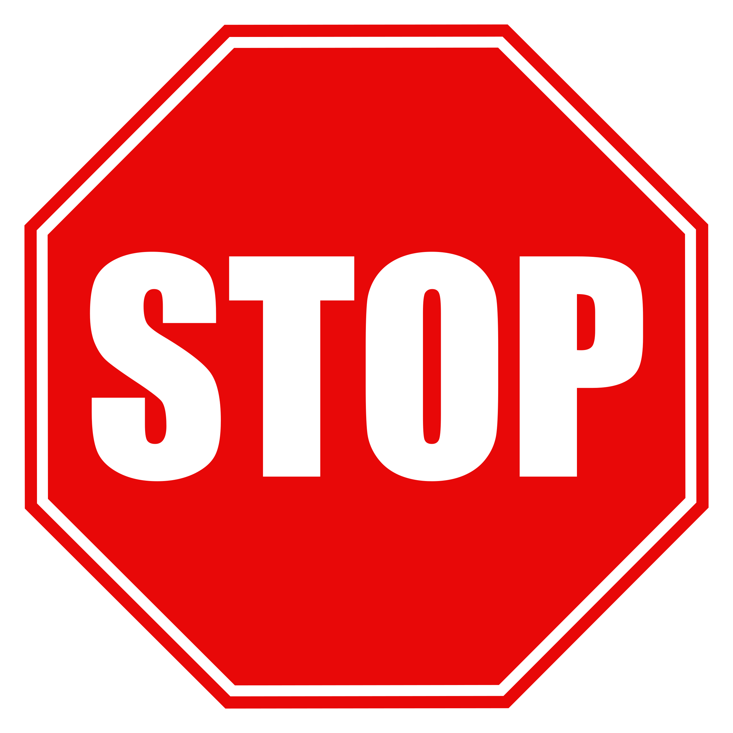 Clipart - Stop Sign