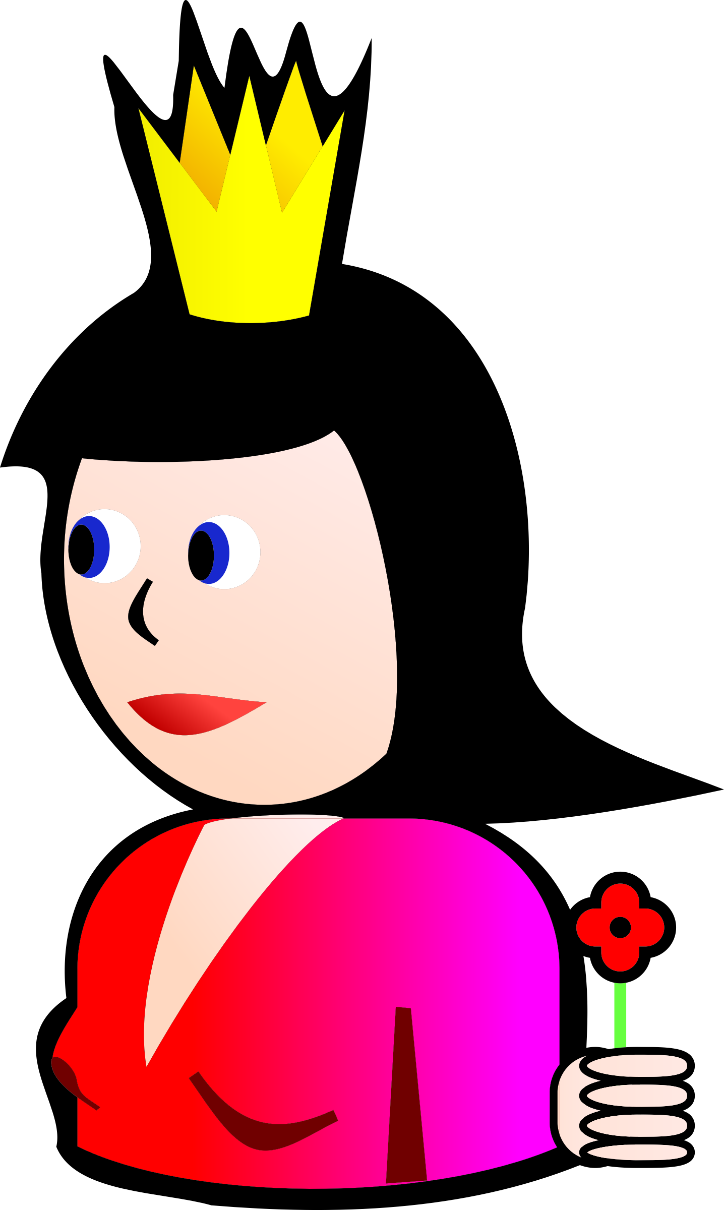 Queen of Hearts by seanujones