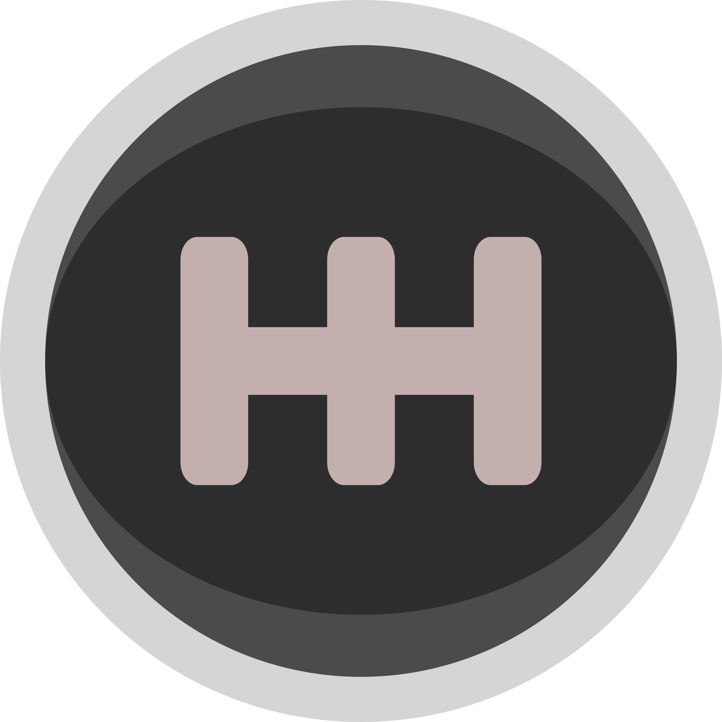 Racing Gear Shift Knob Icon Simple by qubodup