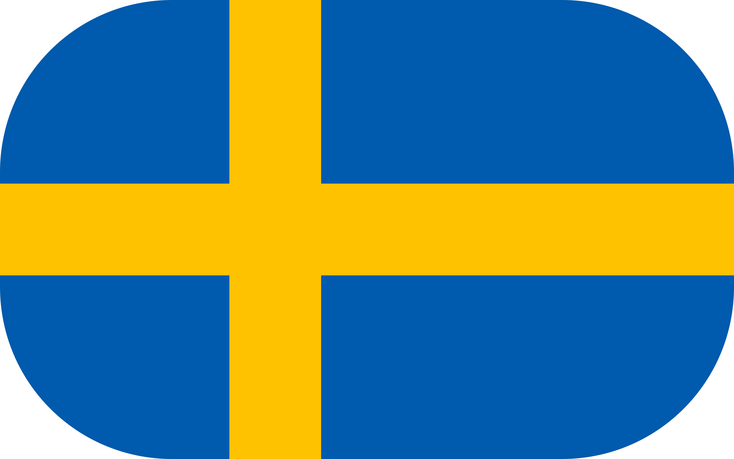 Swedish Flag by gadgetscode