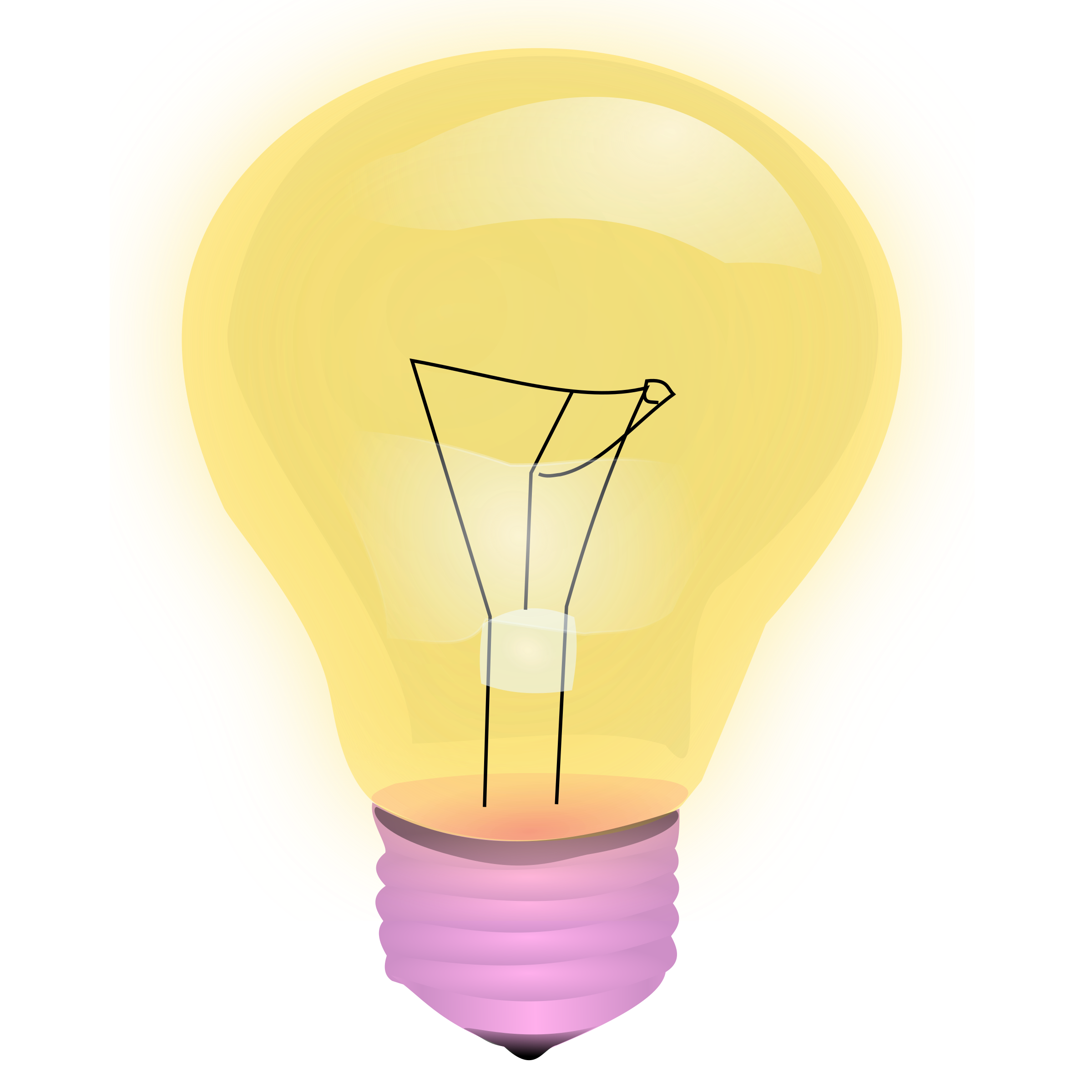 light bulb by frankes