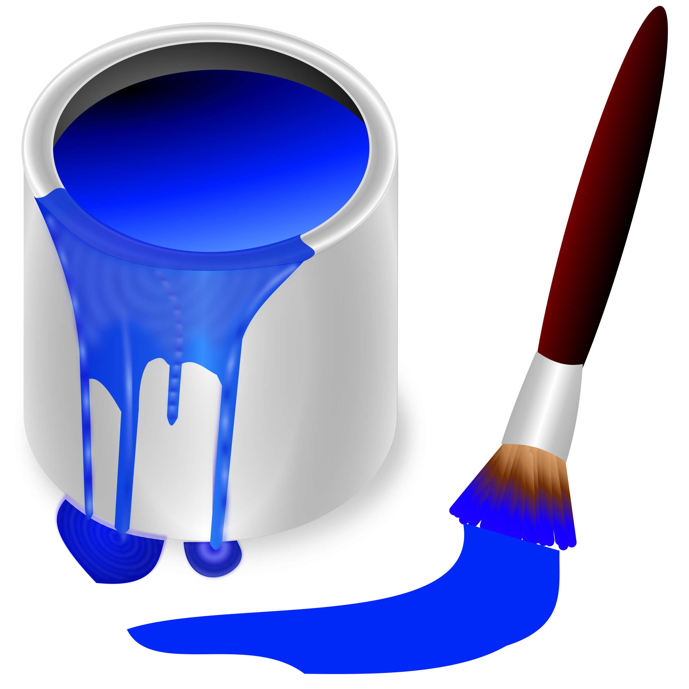 color bucket blue by frankes