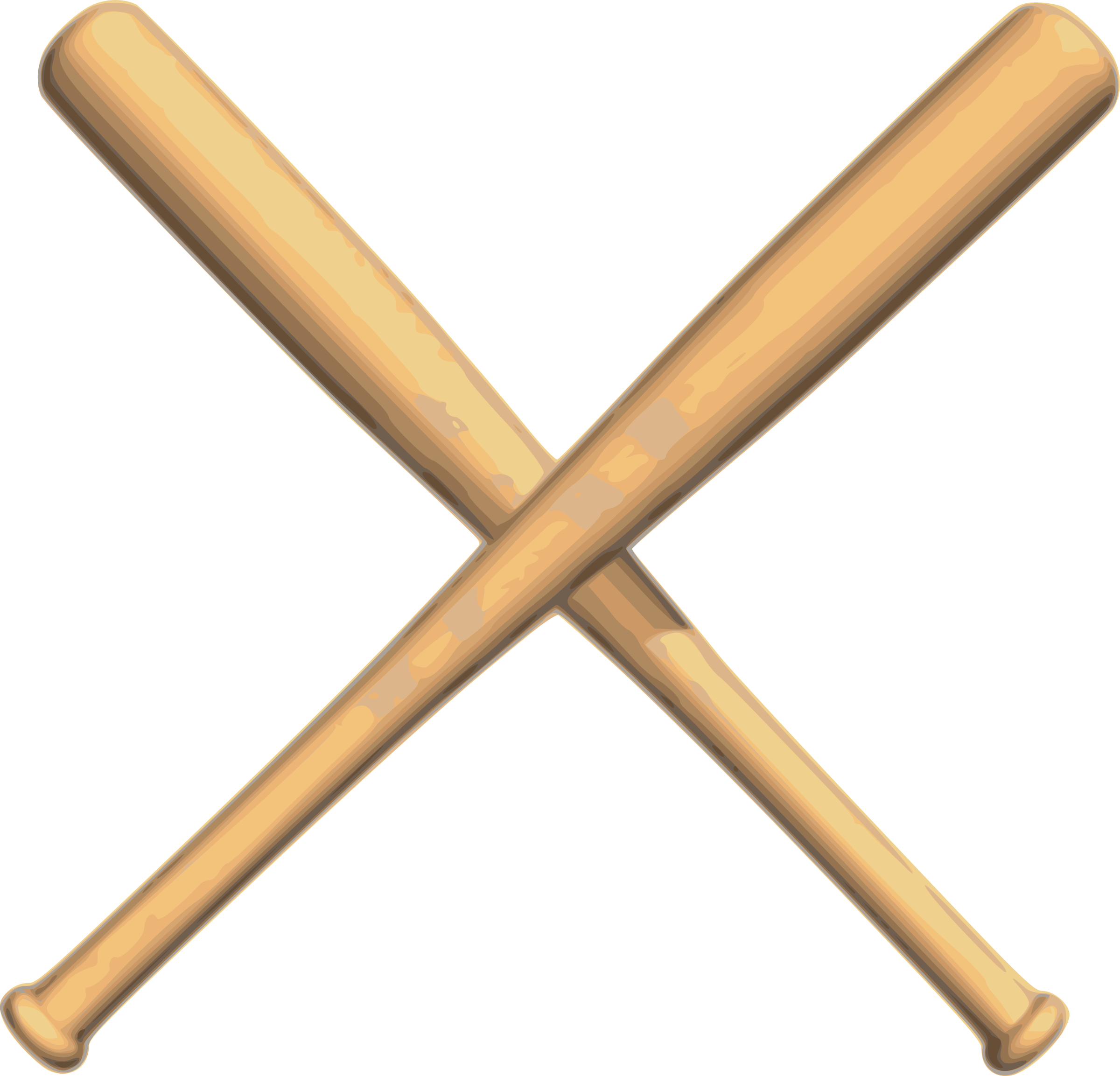 big image  png Crossed Baseball Bats with Baseball Baseball Bats Crossed Clip Art