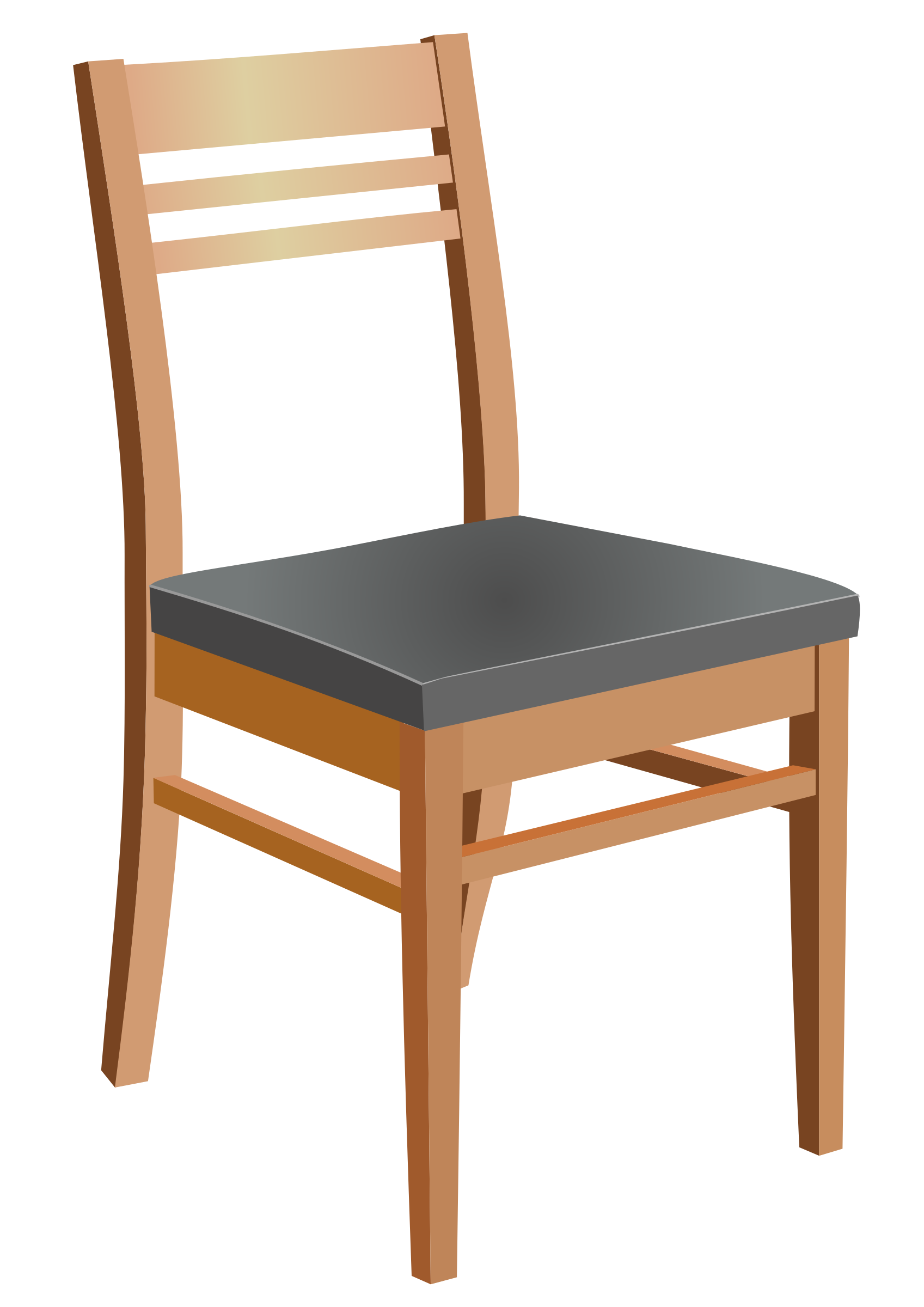 Wooden Chair By Ozerkavak. Full resolution‎  portraiture, nominally Width 1697 Height 2400 pixels, portraiture with #A16028.