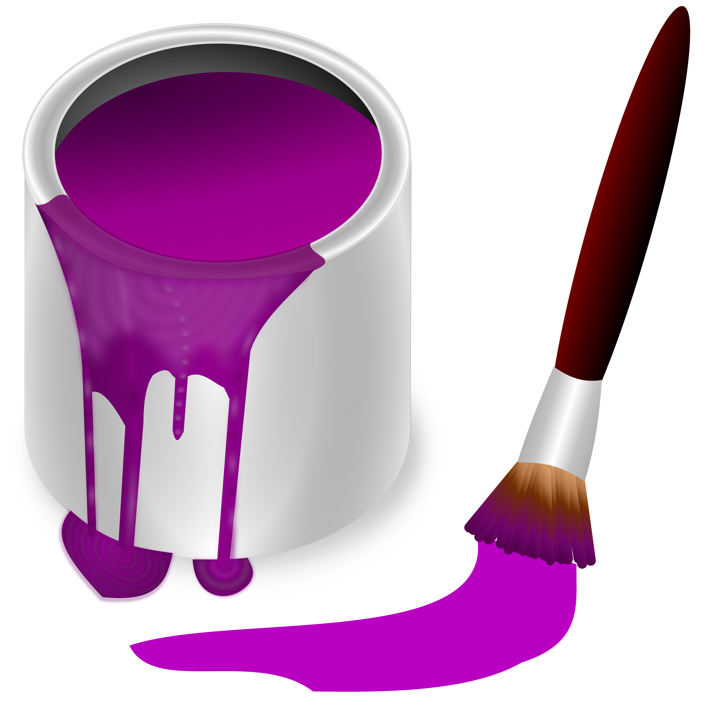 color bucket purple by frankes