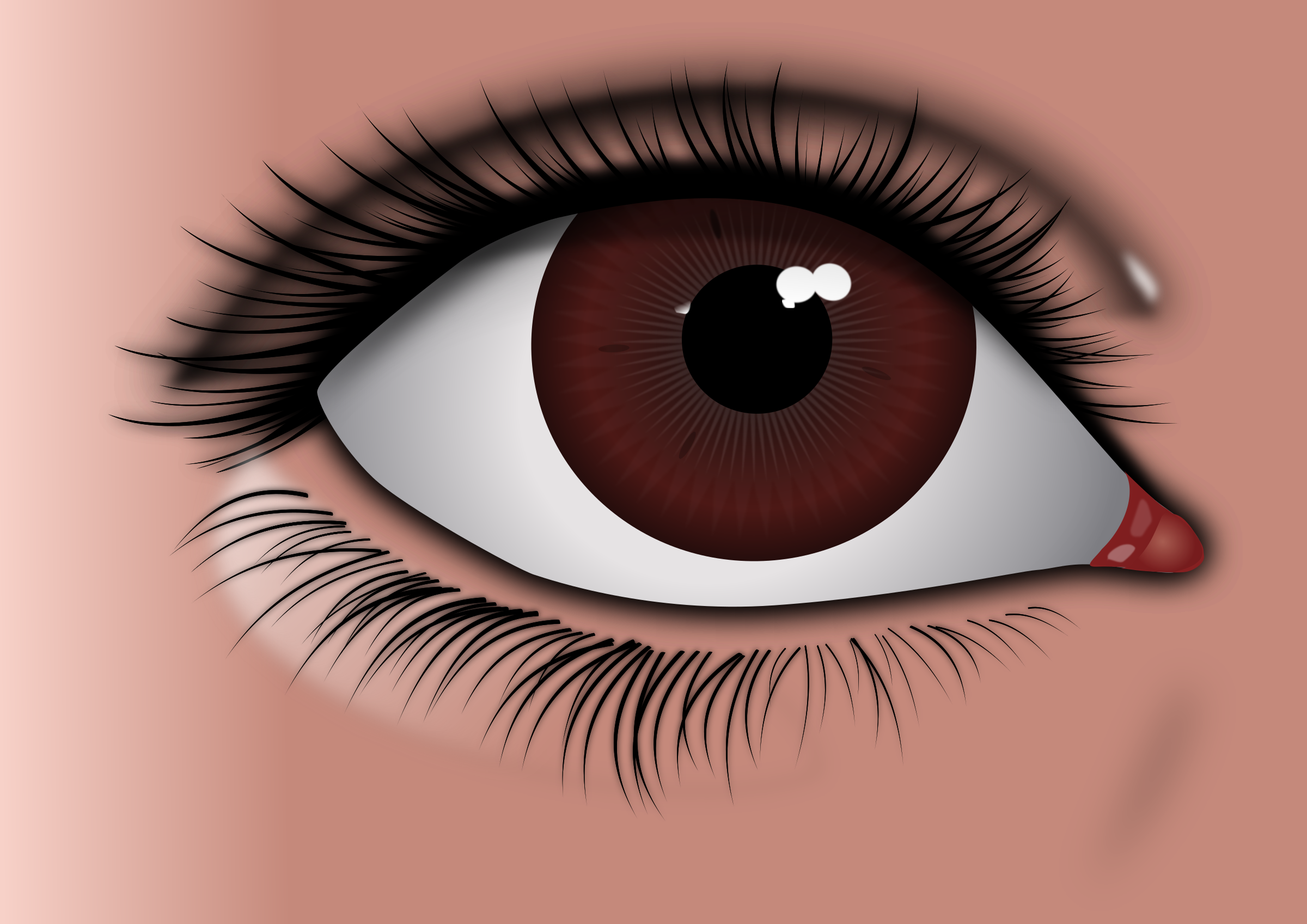 Realistic Brown Eye by Roduke1991