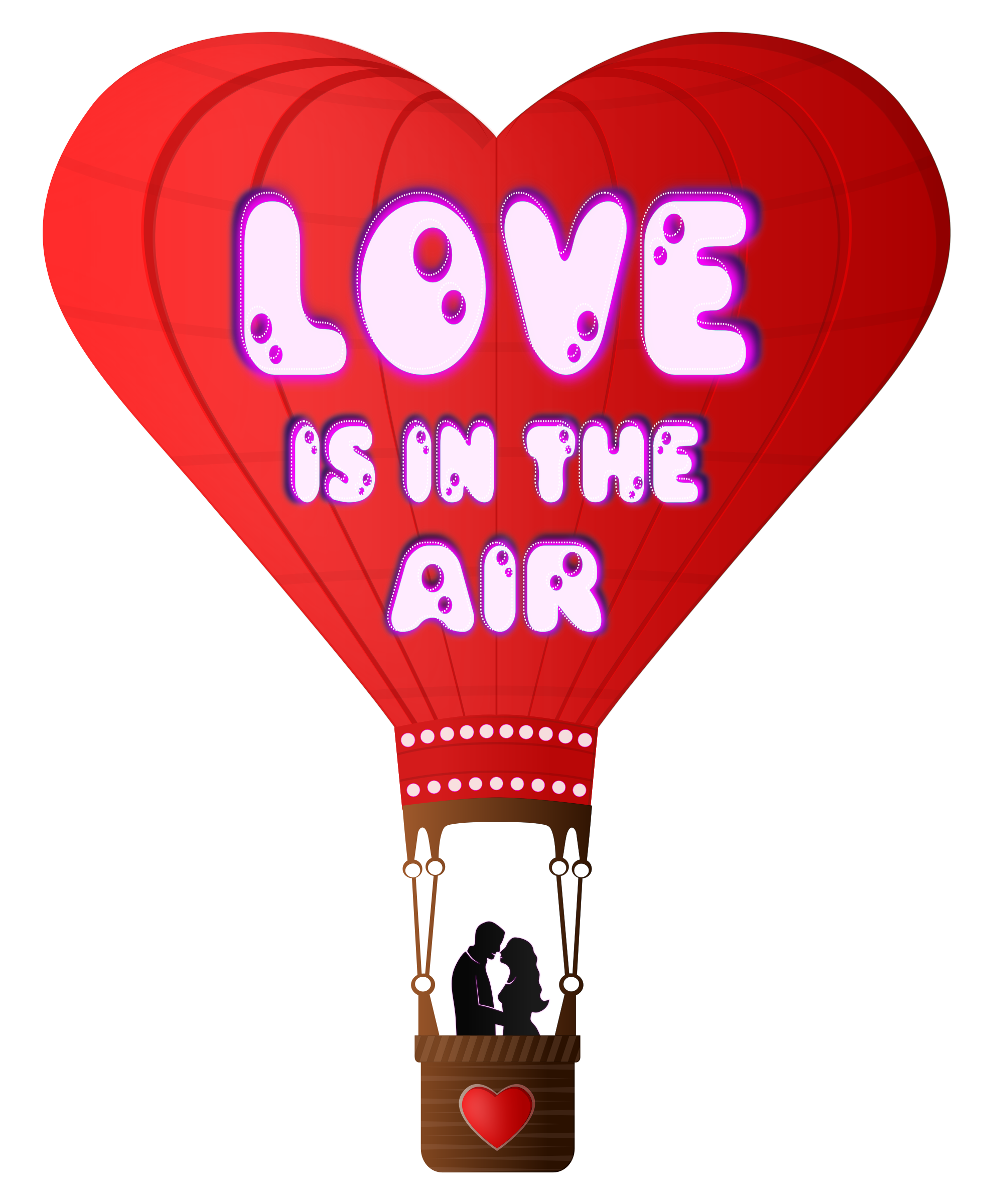 Download Clipart - Valentines Day Love Is In The Air