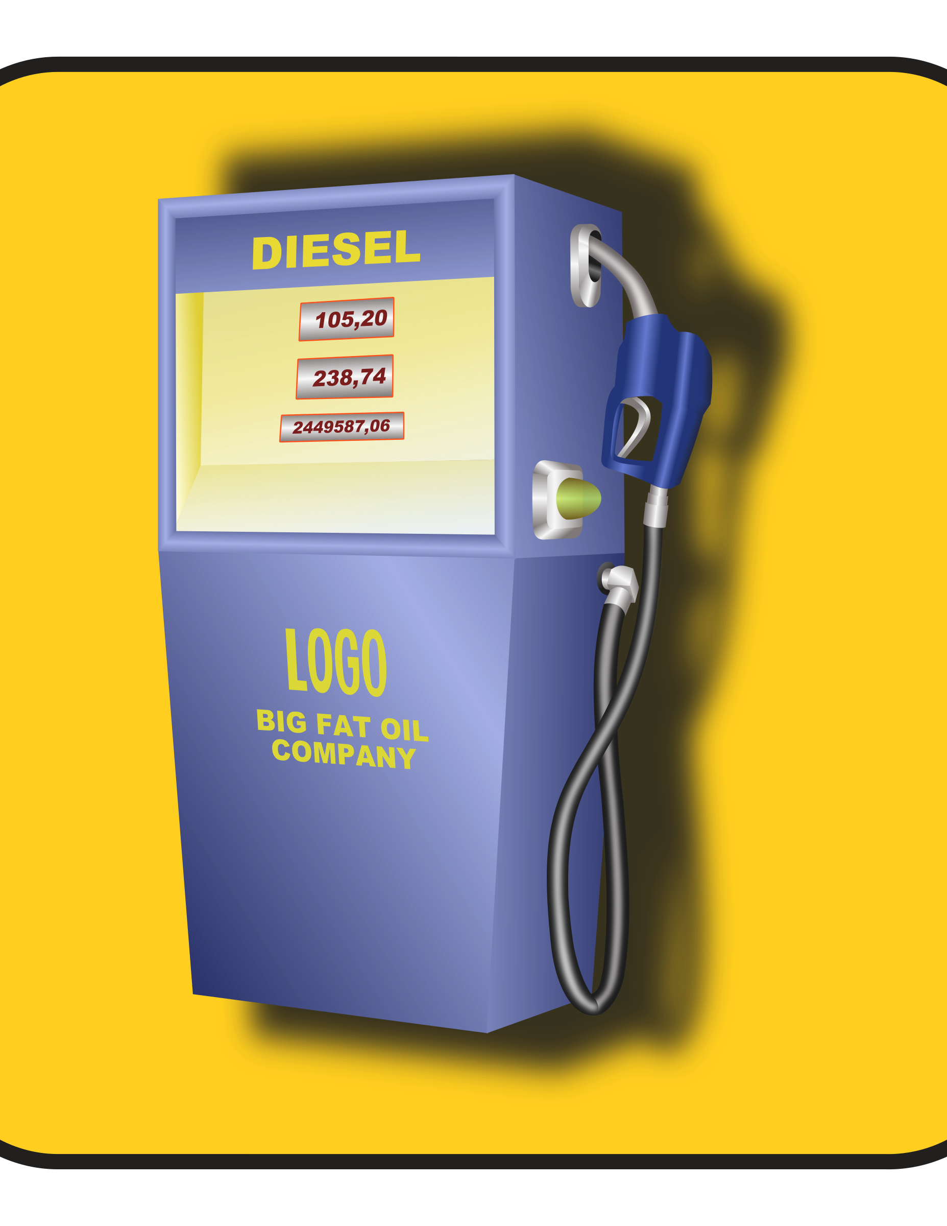 gas pump by ivak