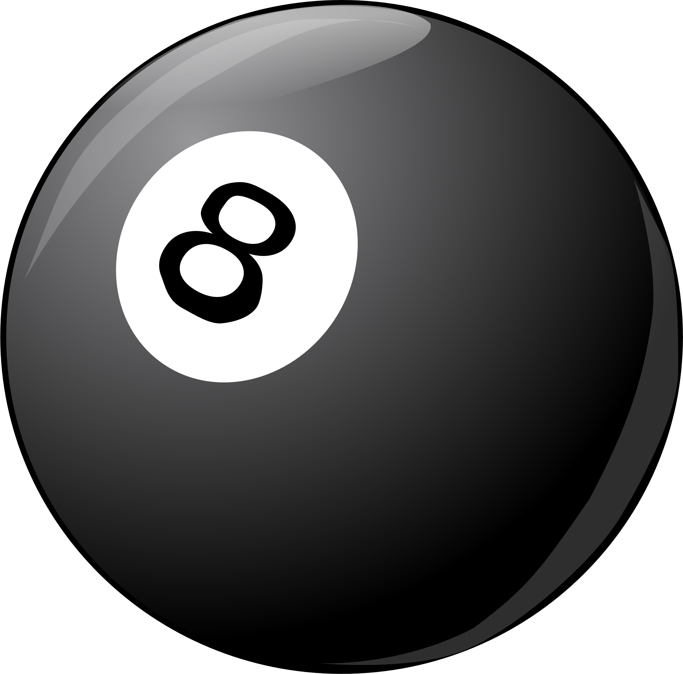 Clipart  8 Ball Rack