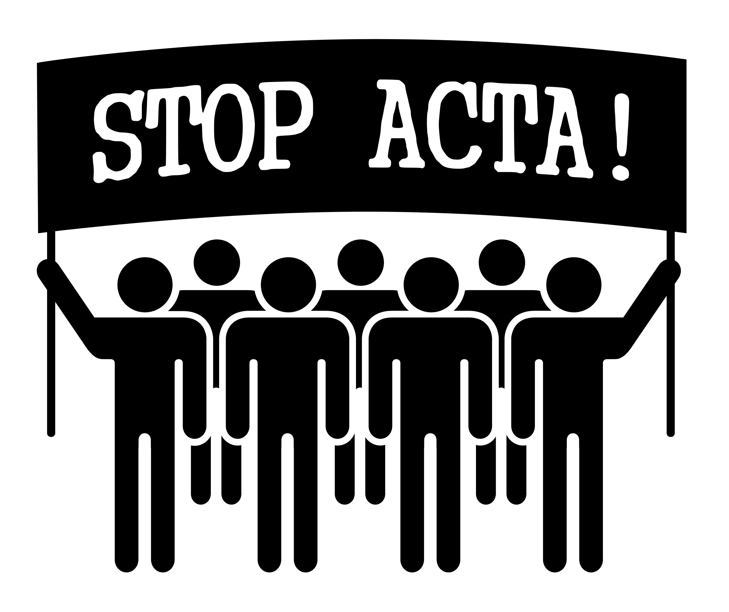 STOP ACTA by worker