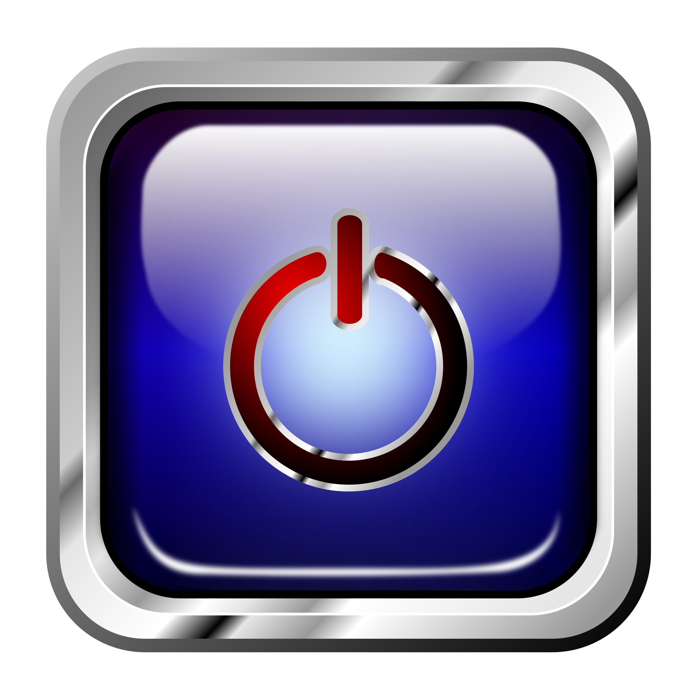 Icon Blue Mutimedia Power by roshellin