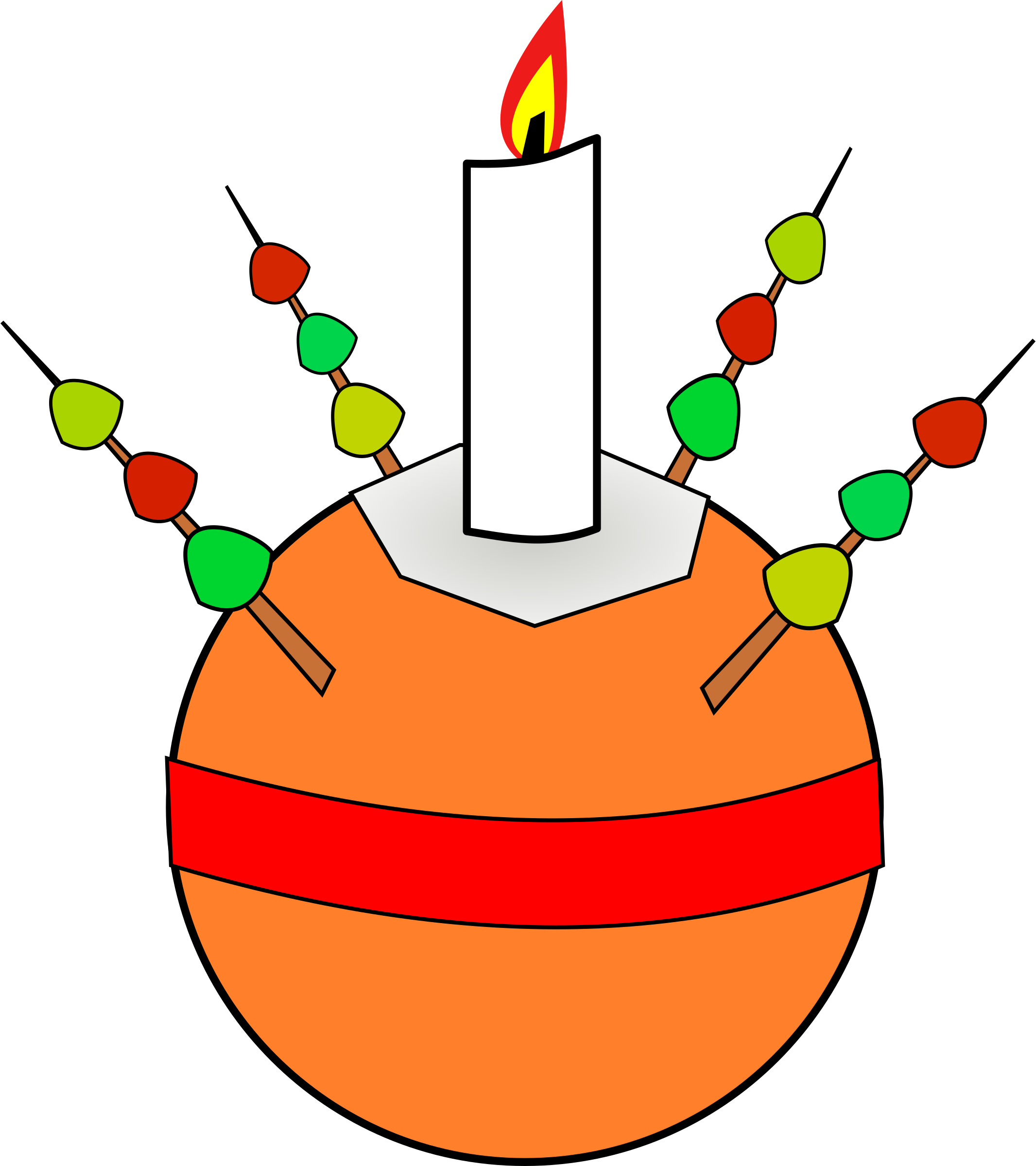 Clipart - Christingle - 195.8KB