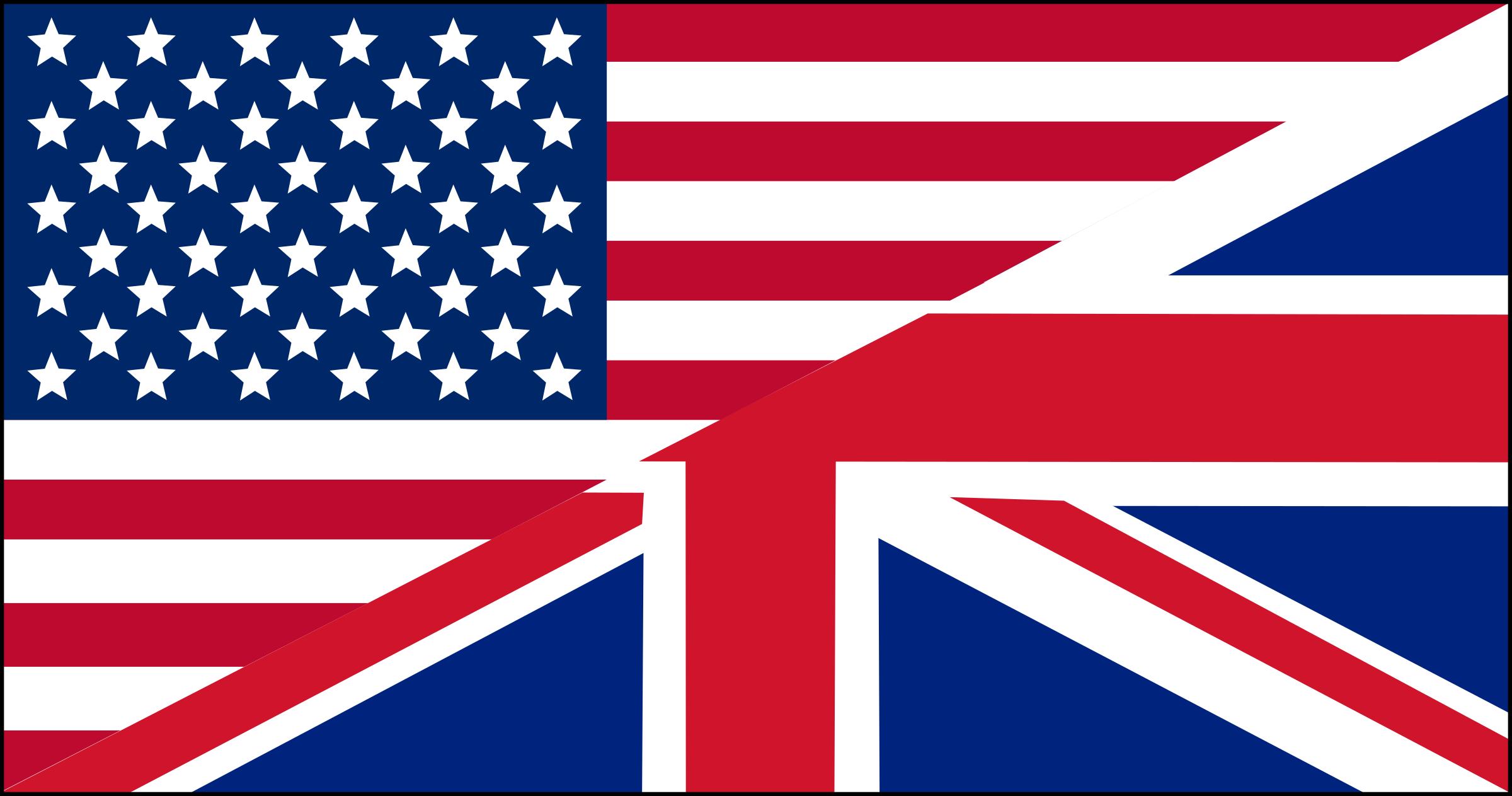 US/UK flag by klainen