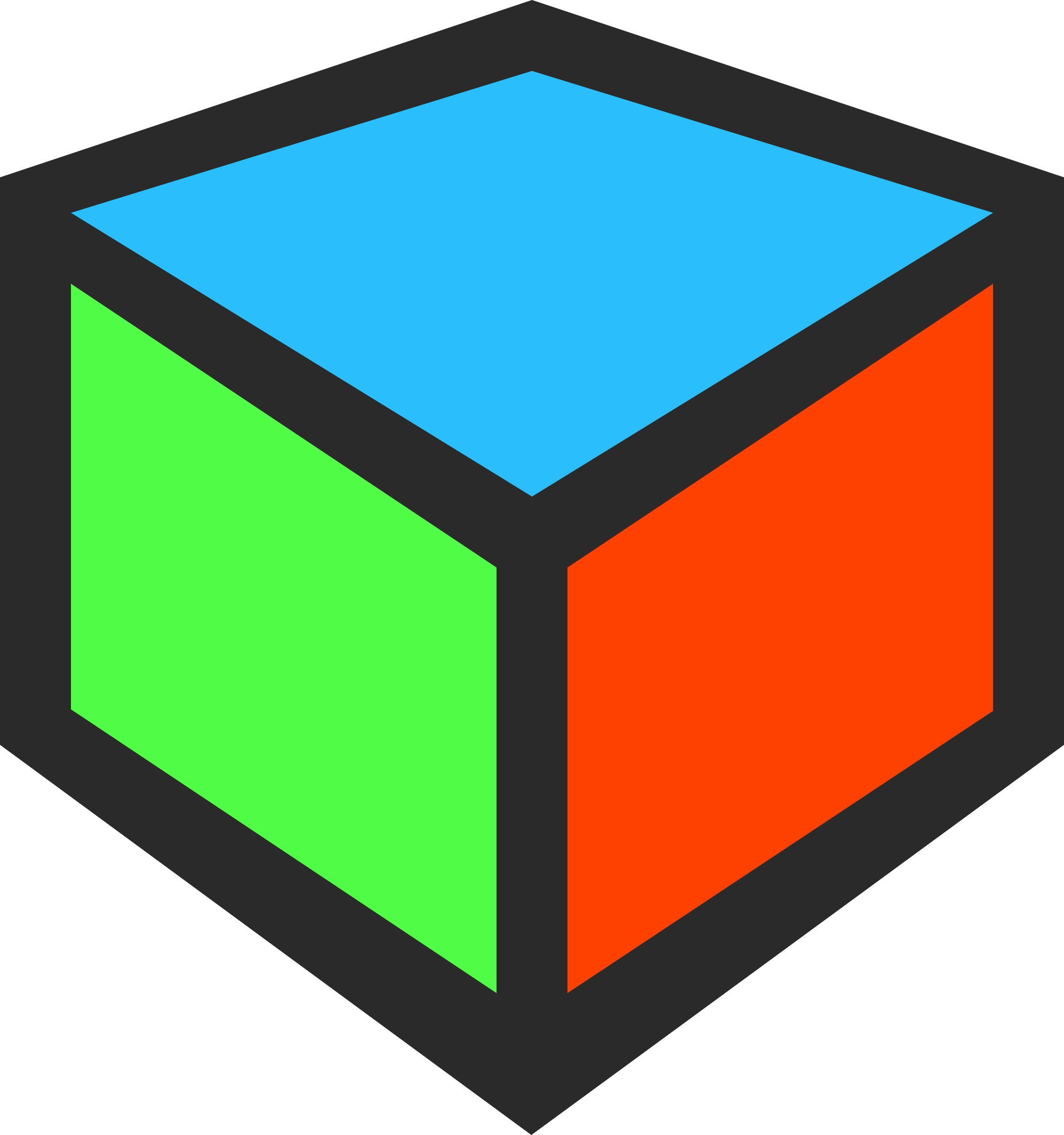 3D Cube Icon by qubodup
