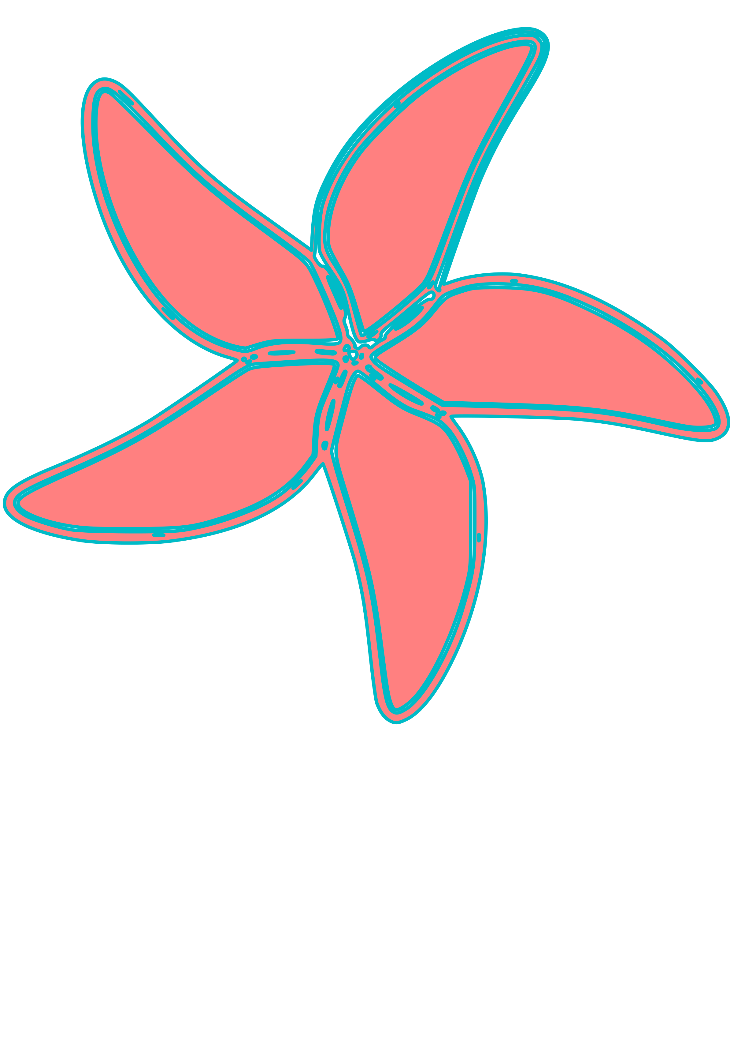 very simple starfish by clax