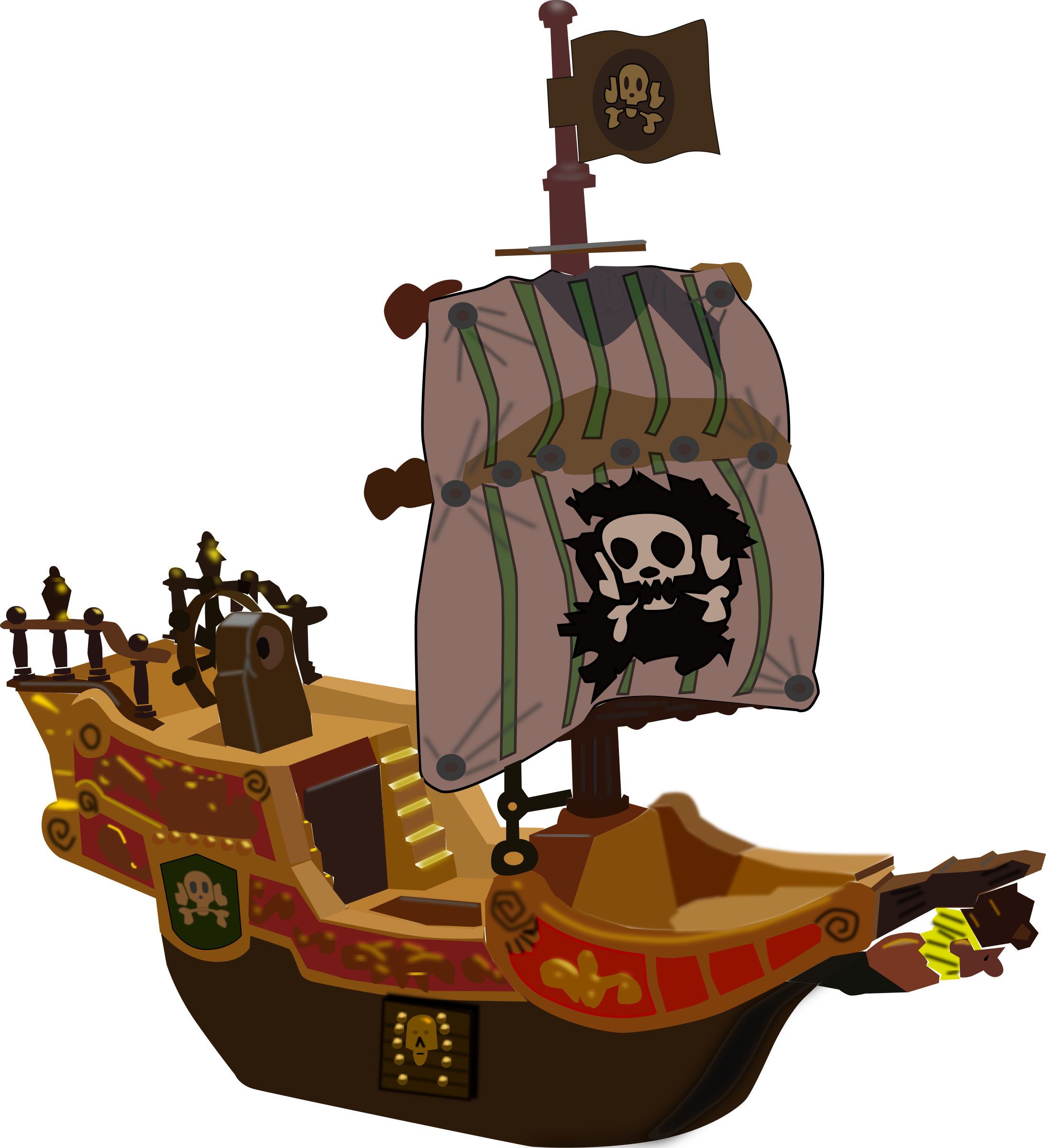 Pirate-ship by mystica