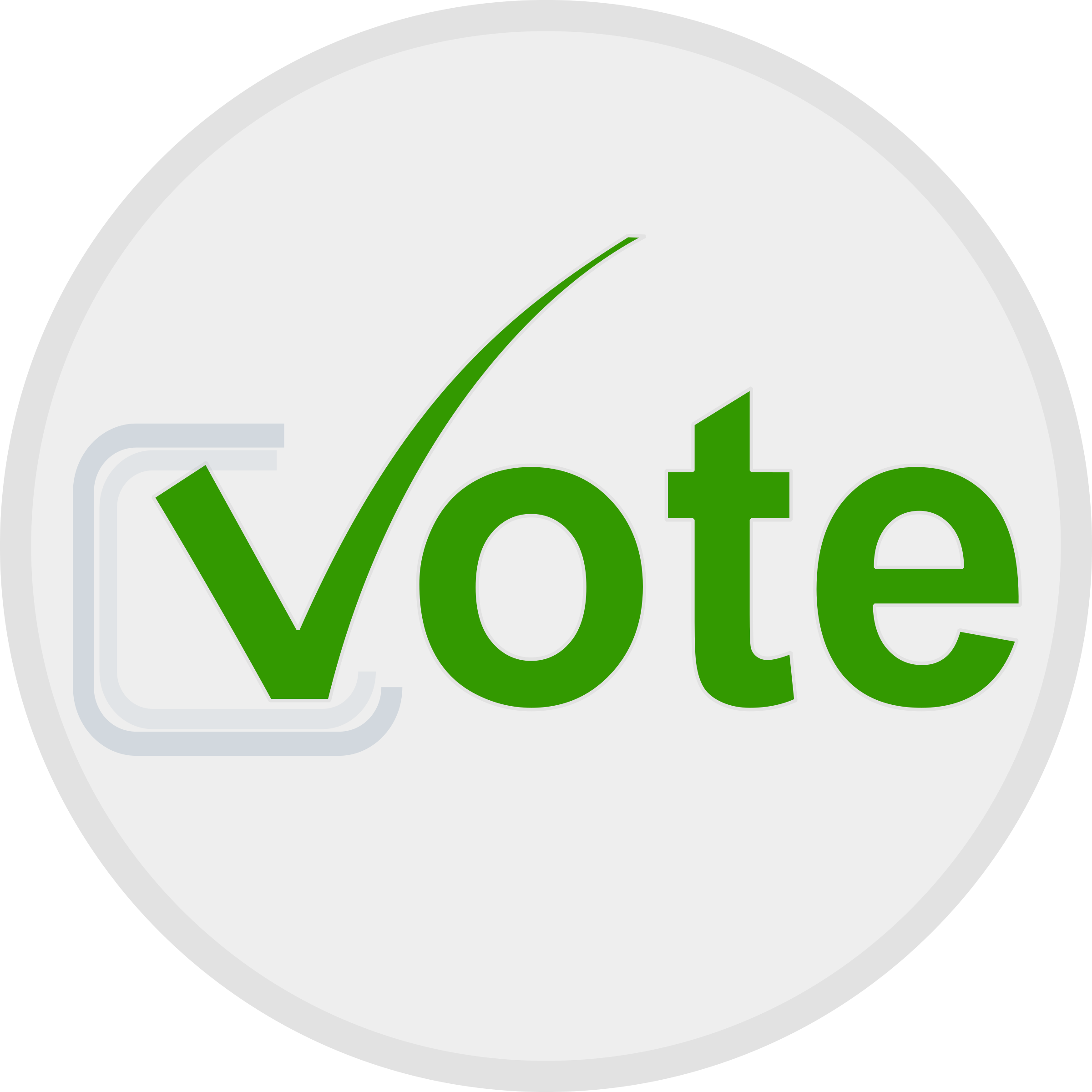 Vote icon by netalloy
