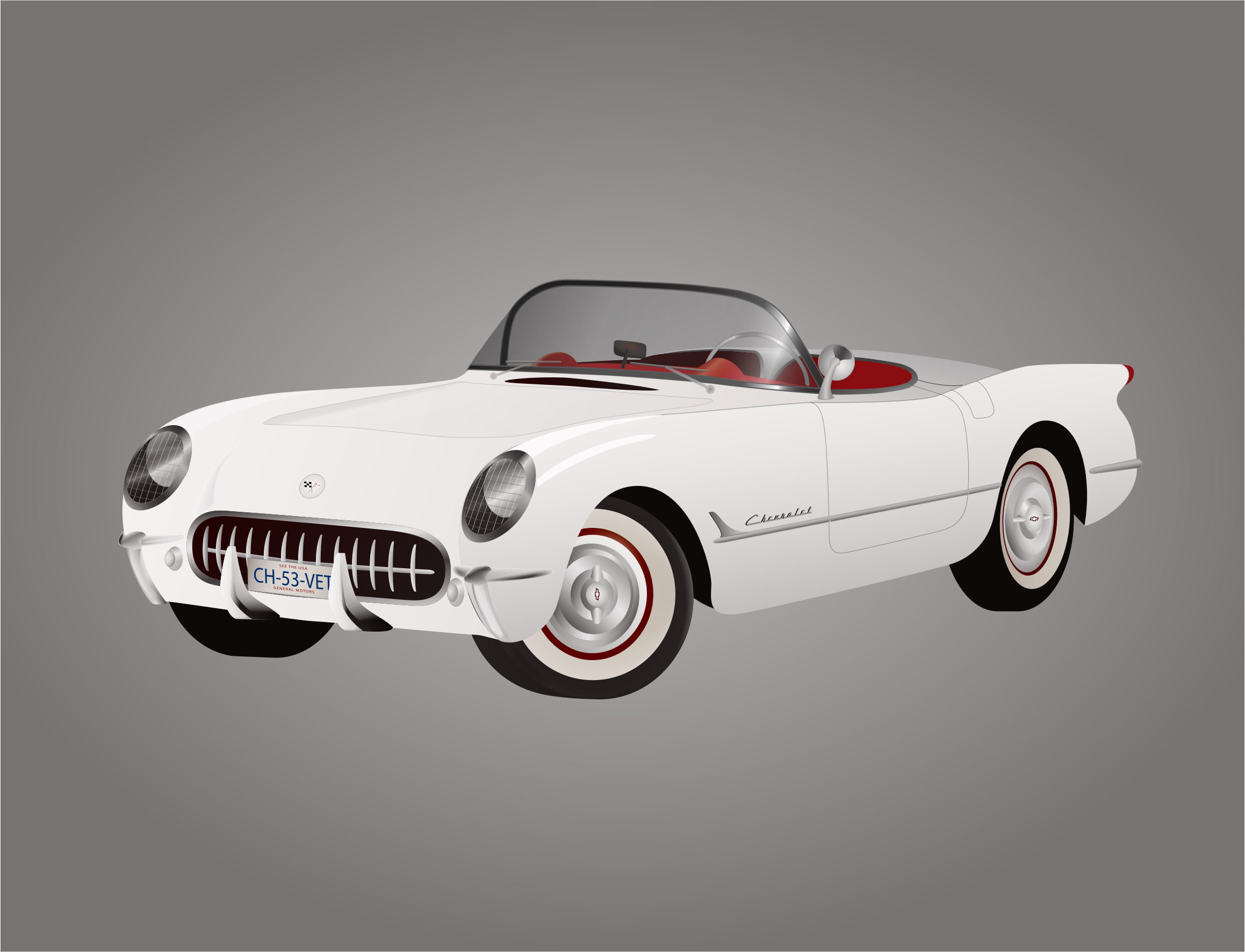 1953 Corvette by bnsonger47