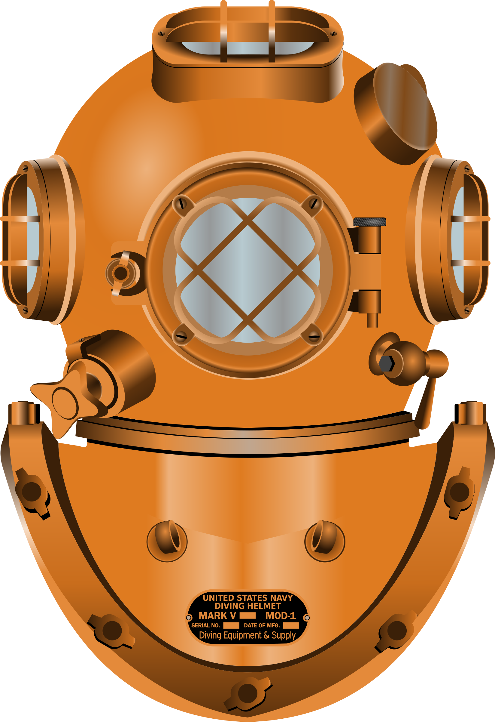 Diving Helmet by conte magnus