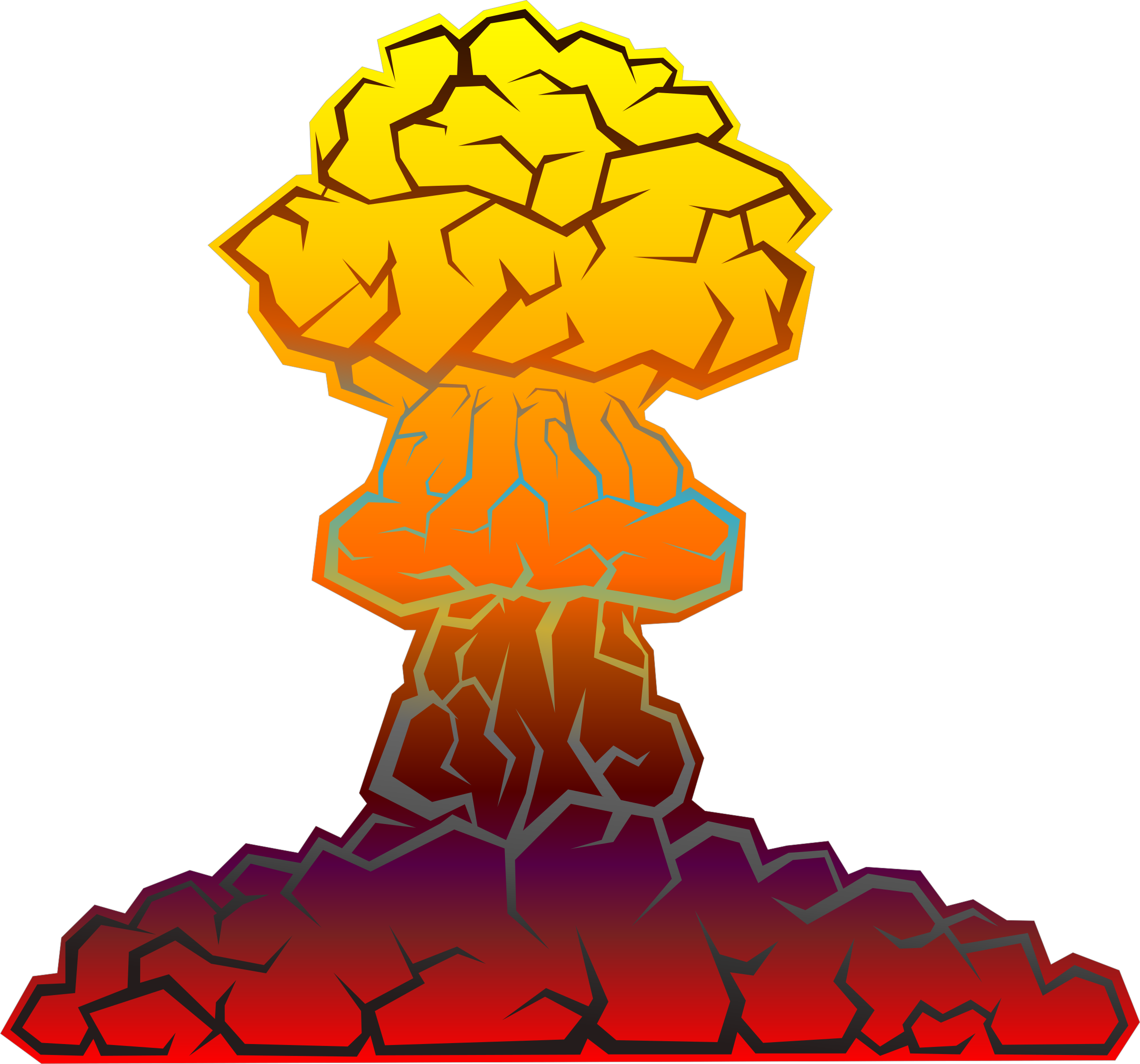 Nuclear Explosion by kg
