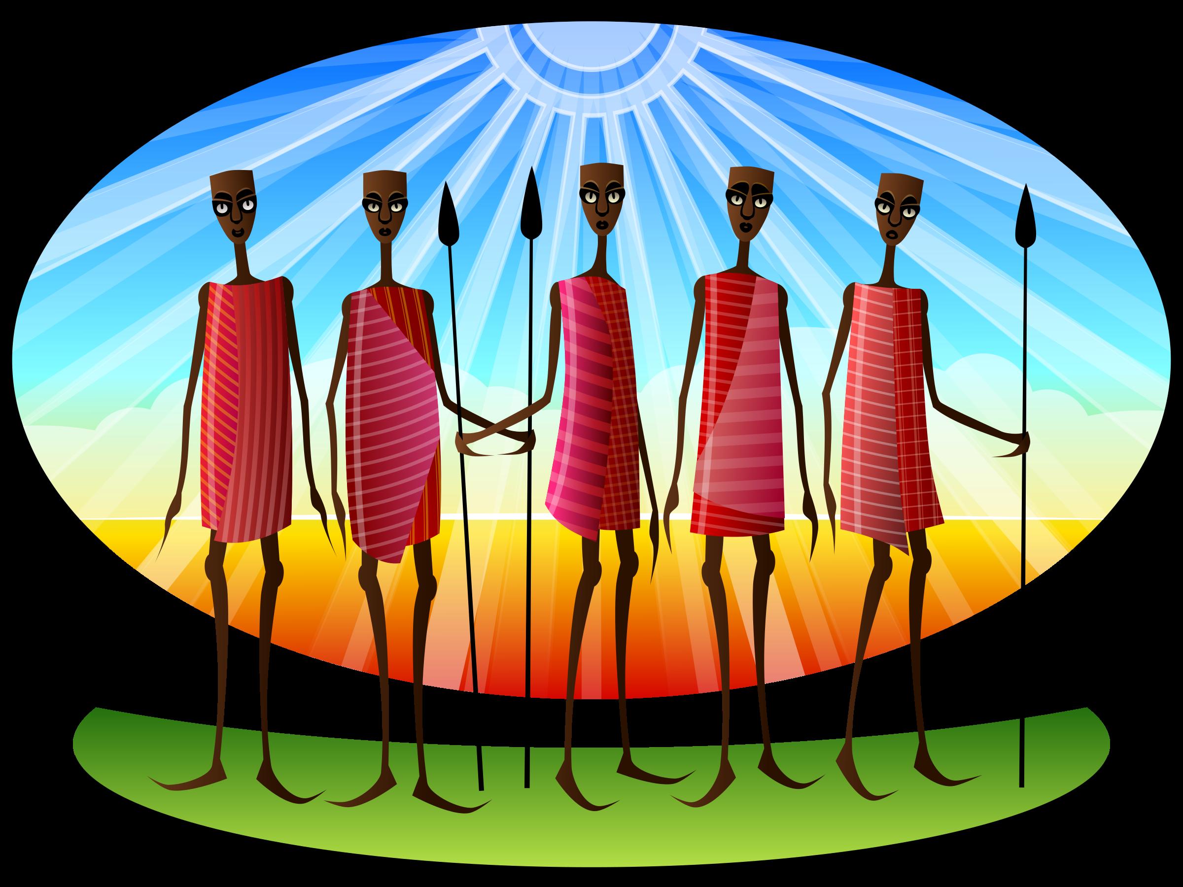 Stylized Masai by Viscious-Speed