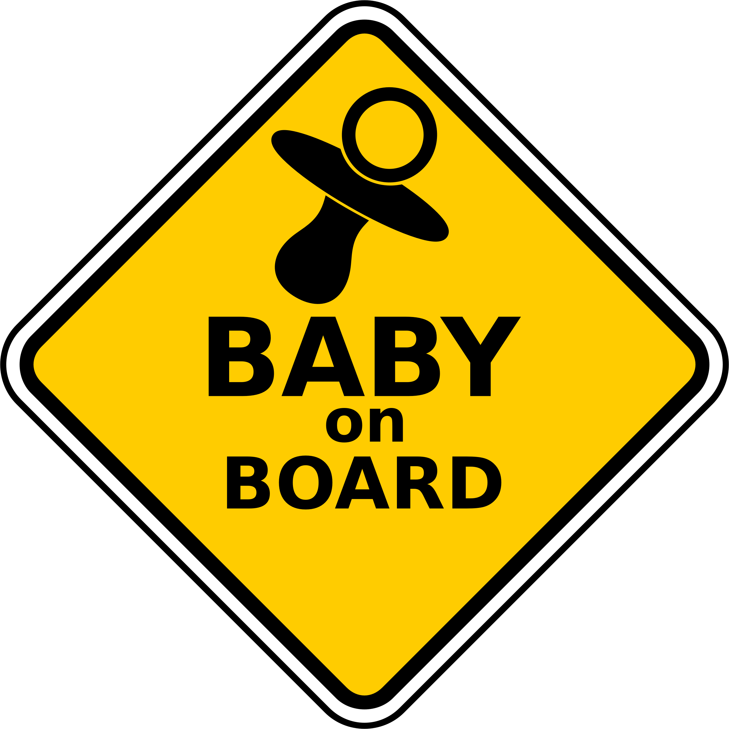 Baby On Board by Robert Ingil