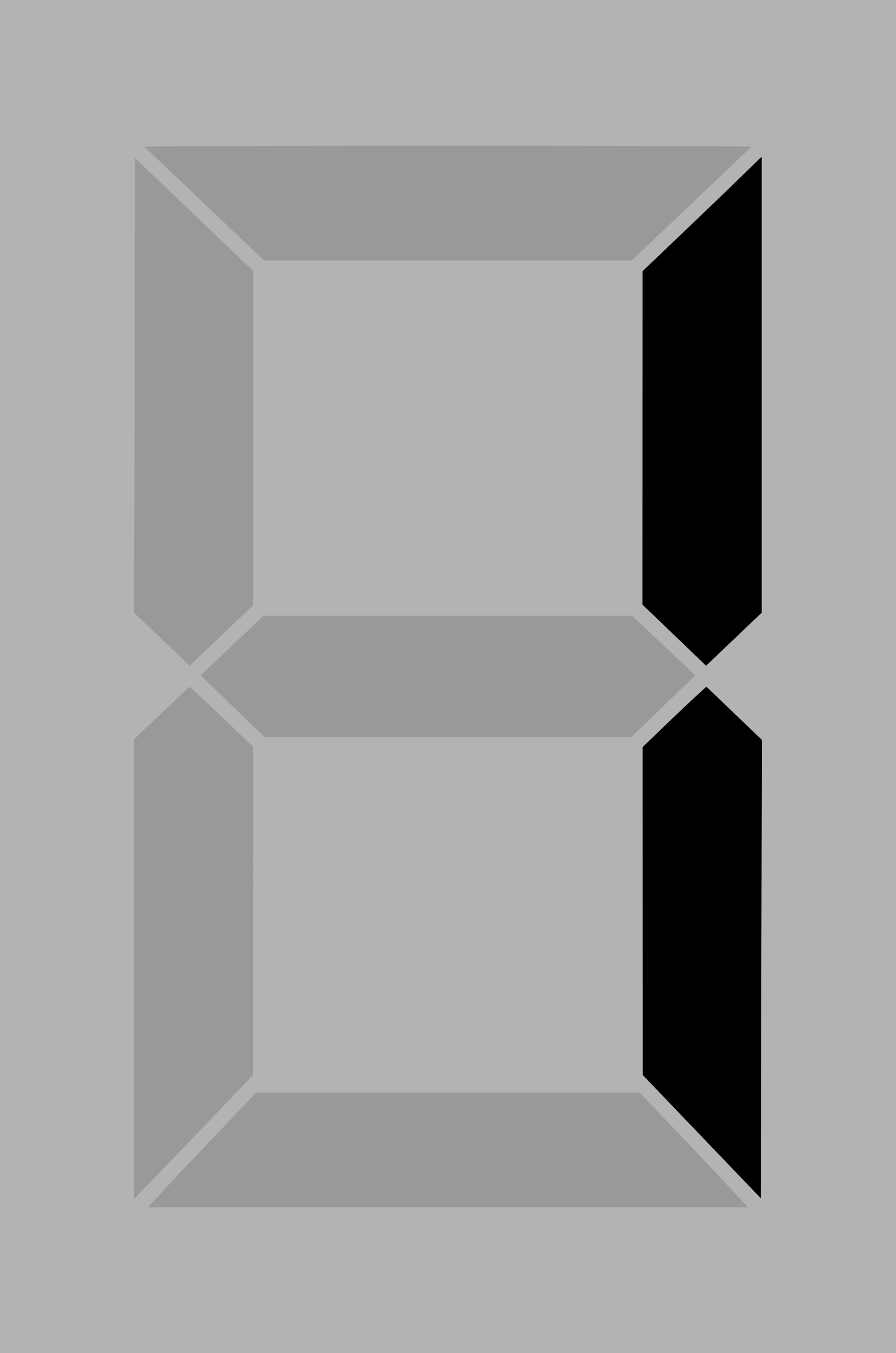 Seven segment display gray 1 by alex8664