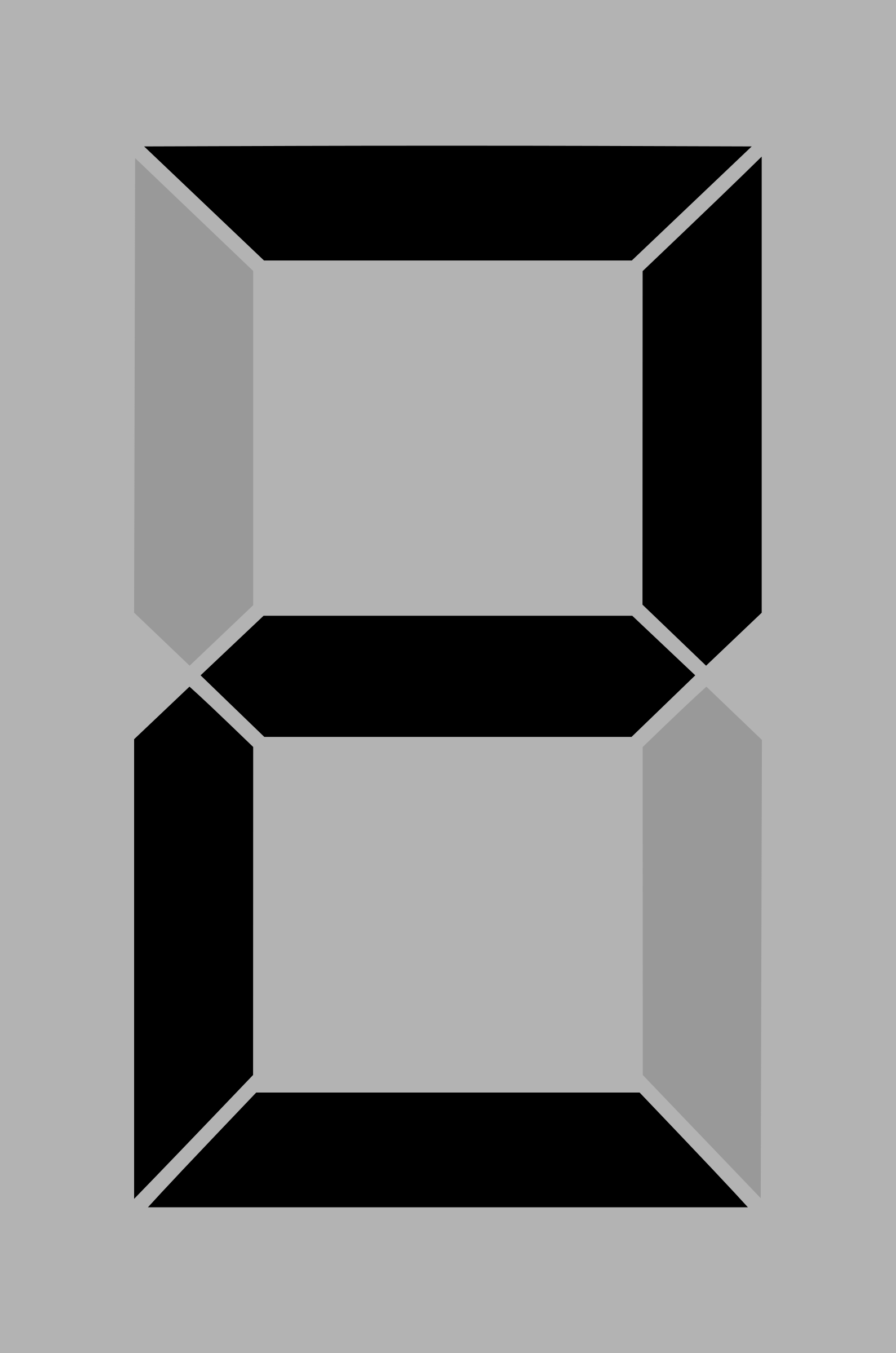 Seven segment display gray 2 by alex8664