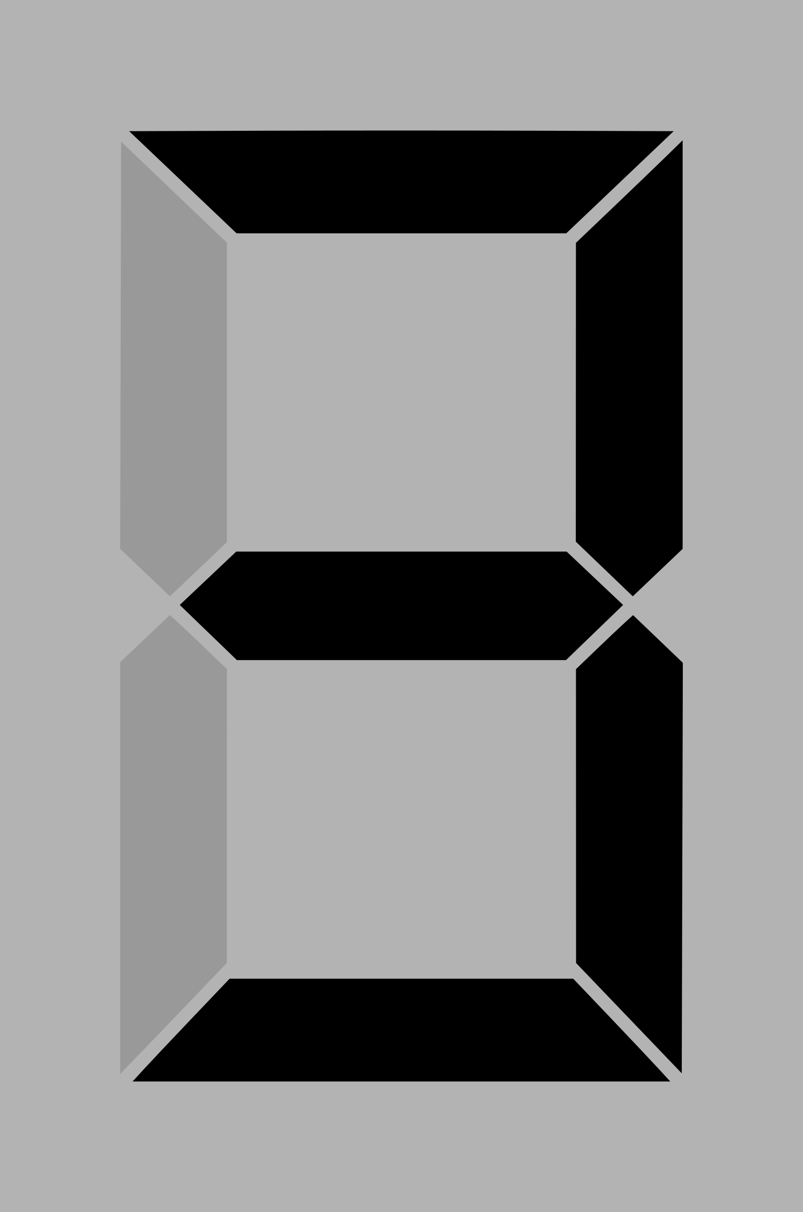 Seven segment display gray 3 by alex8664