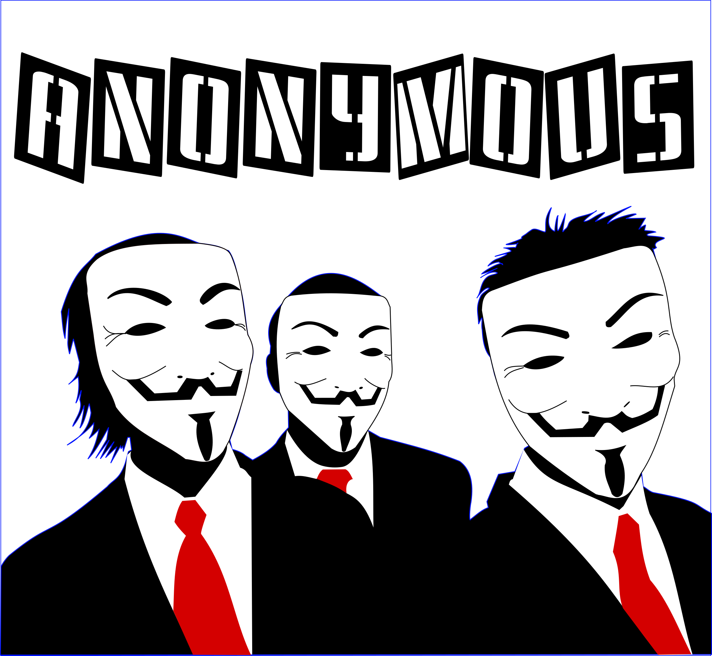 Anonymous people by asrafil