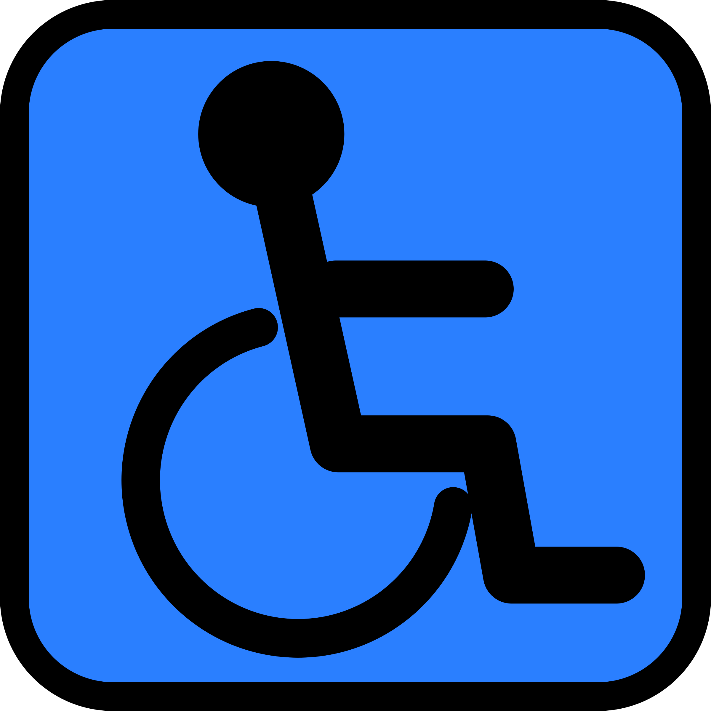Accessible sign by Tavin
