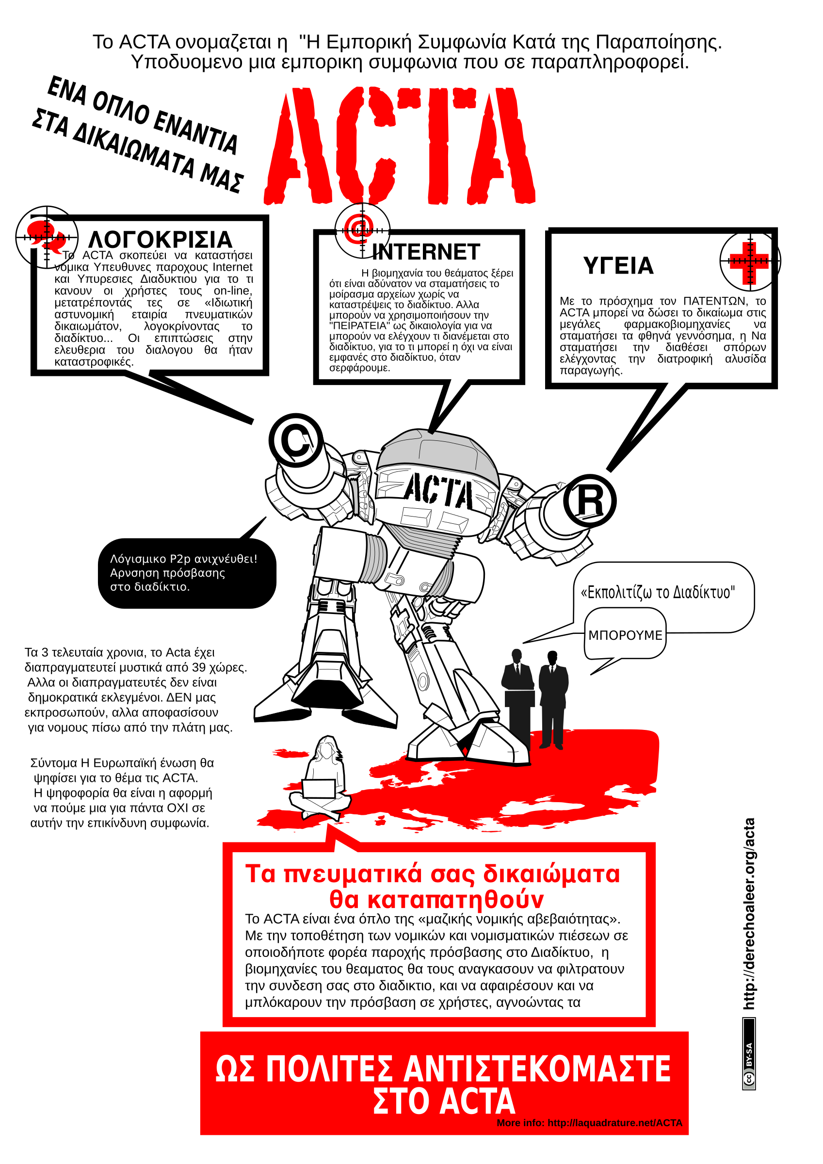 ACTA STOP GREEK by Agiofws