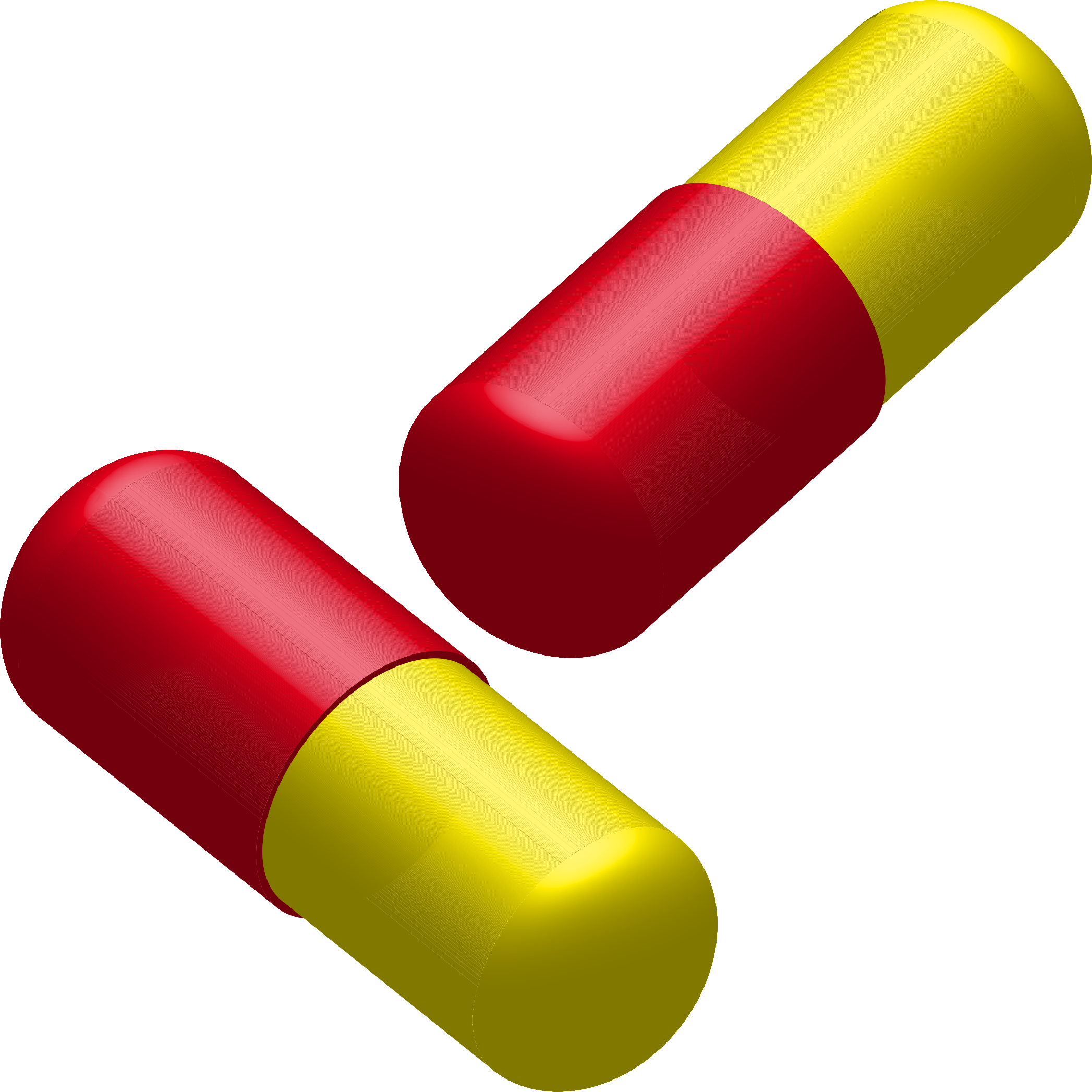Clipart - Two capsules