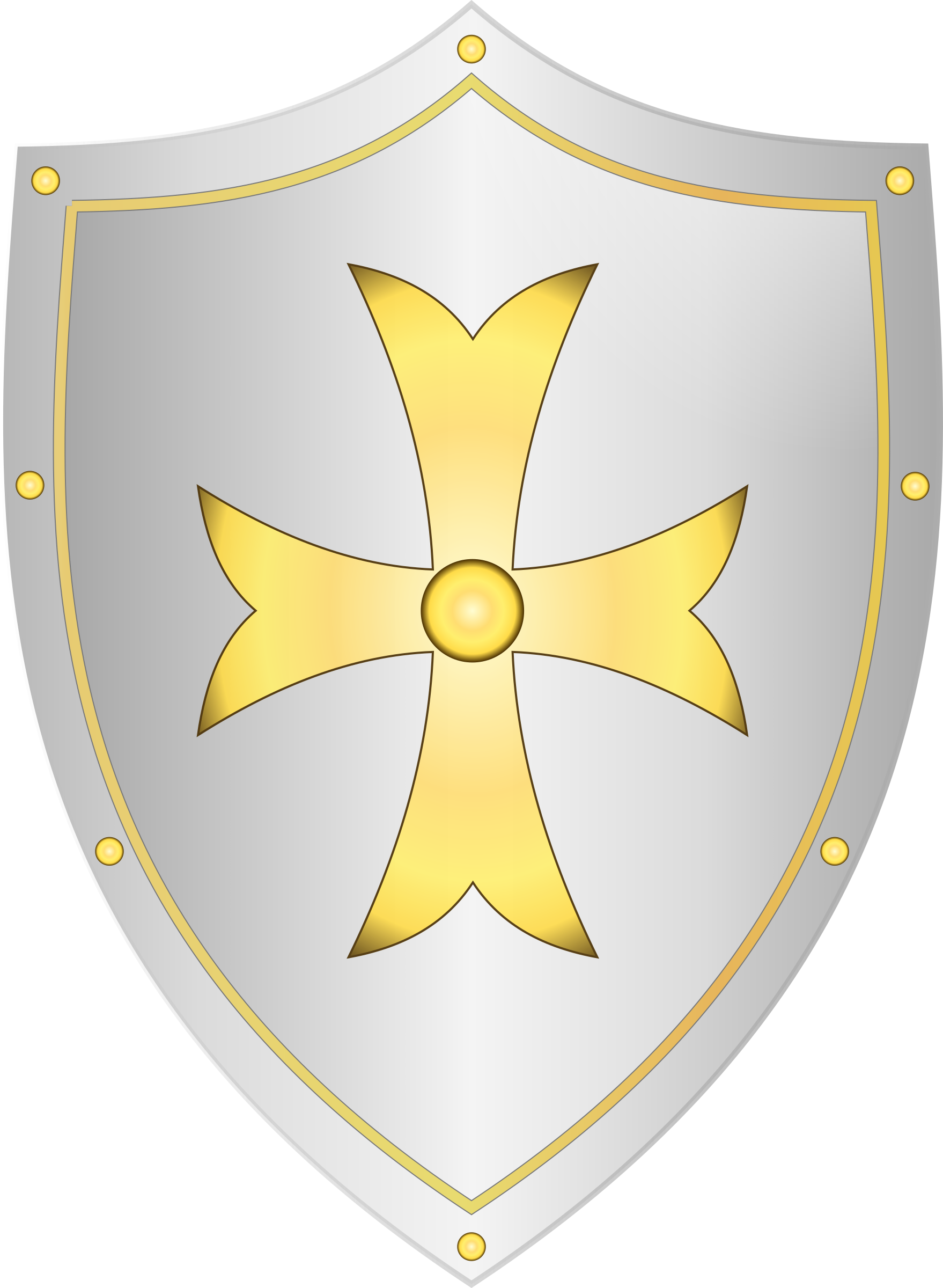 Classic Medieval Shield by Gribba