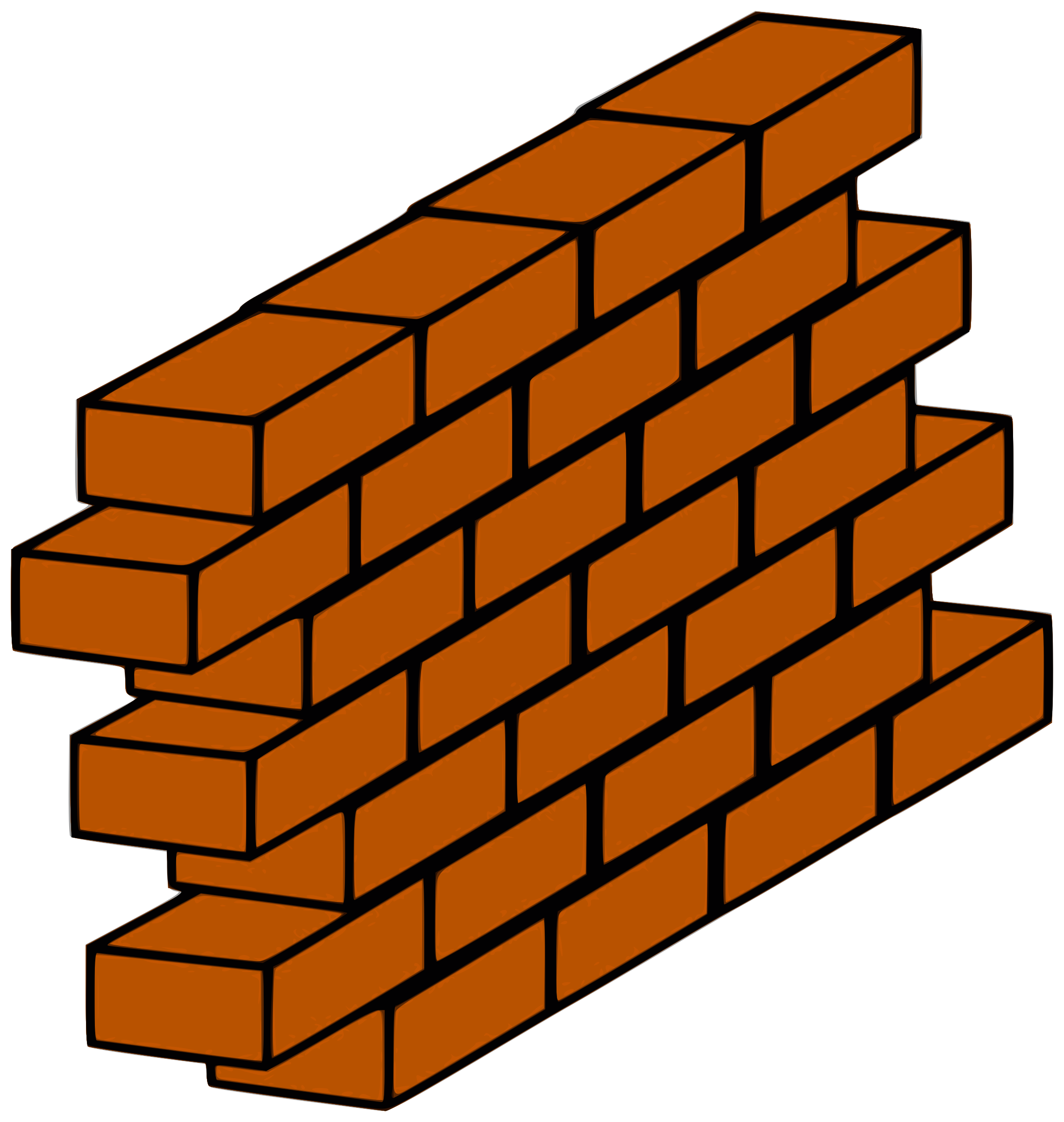 clipart red brick wall rh openclipart org brick wall background clipart brick wall clipart png