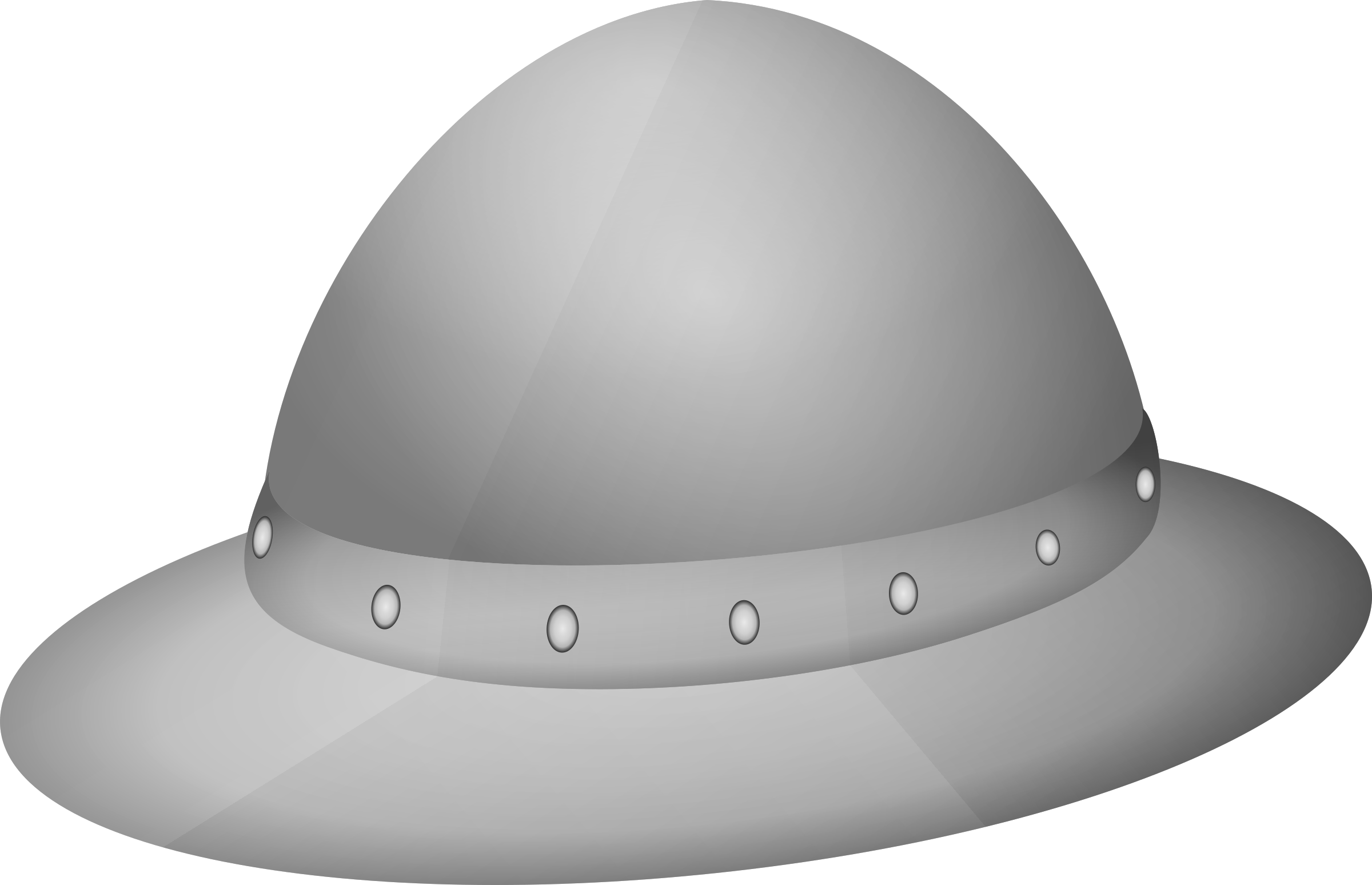 The kettle hat/helmet by Gribba