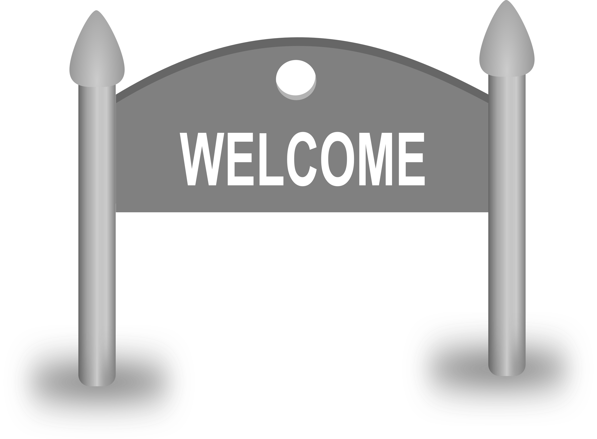 Welcome Sign board by gsagri04
