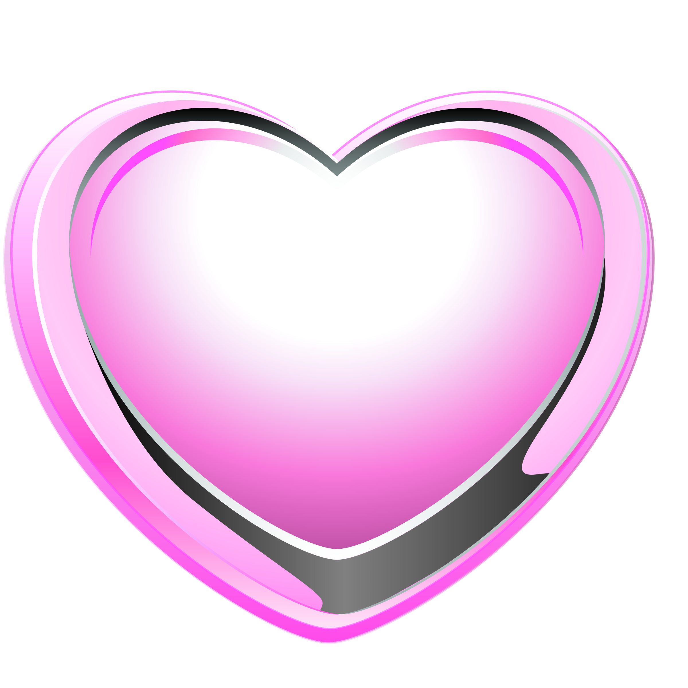 Pink Heart by ilnanny