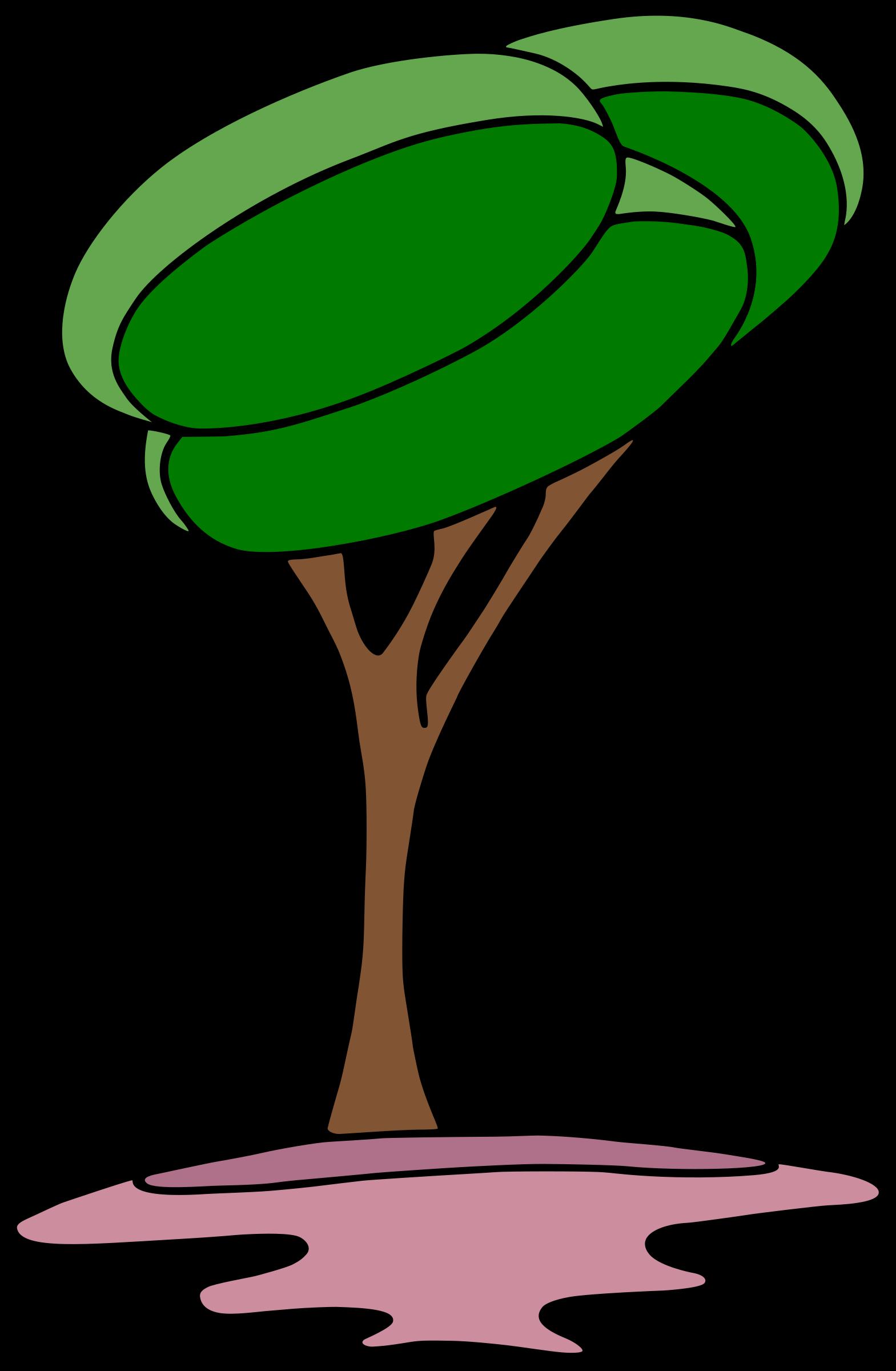arbre-modern by... Microsoft Garden Clipart